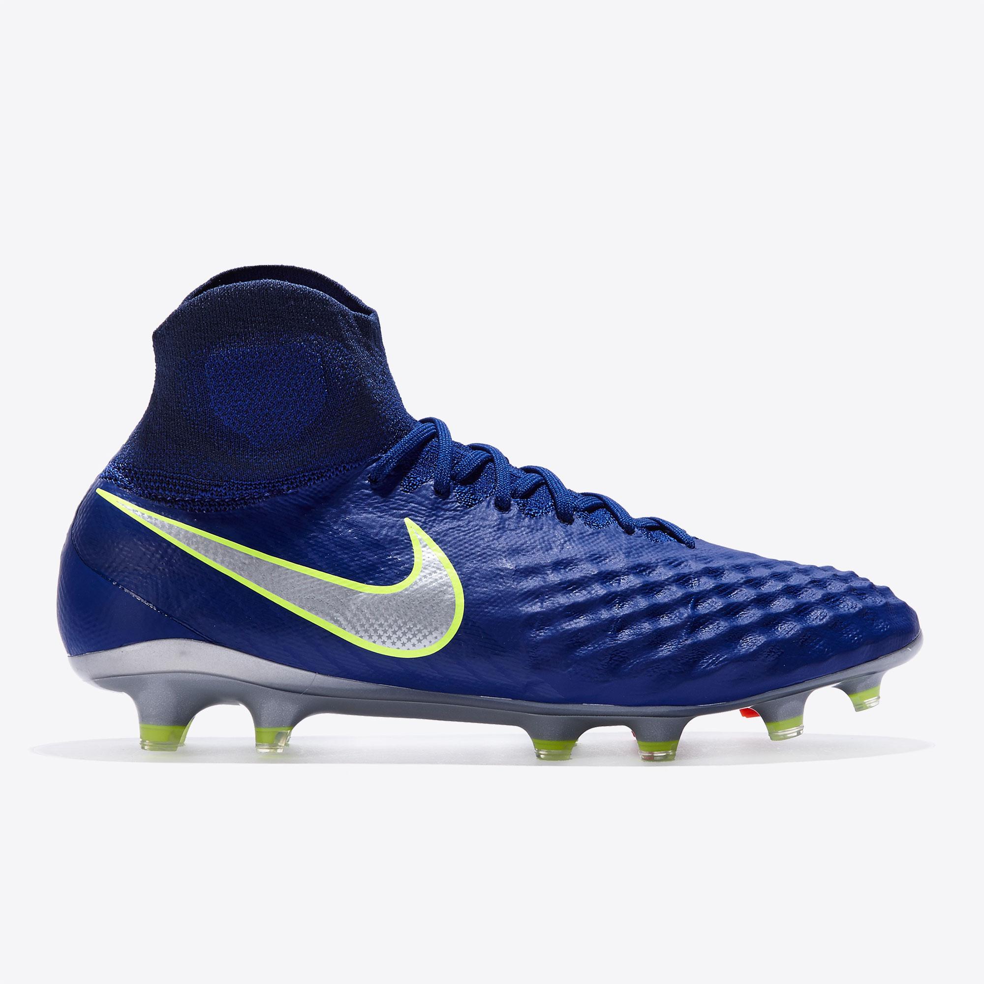 Nike Magista Obra II FG Deep Royal Blue/Chro
