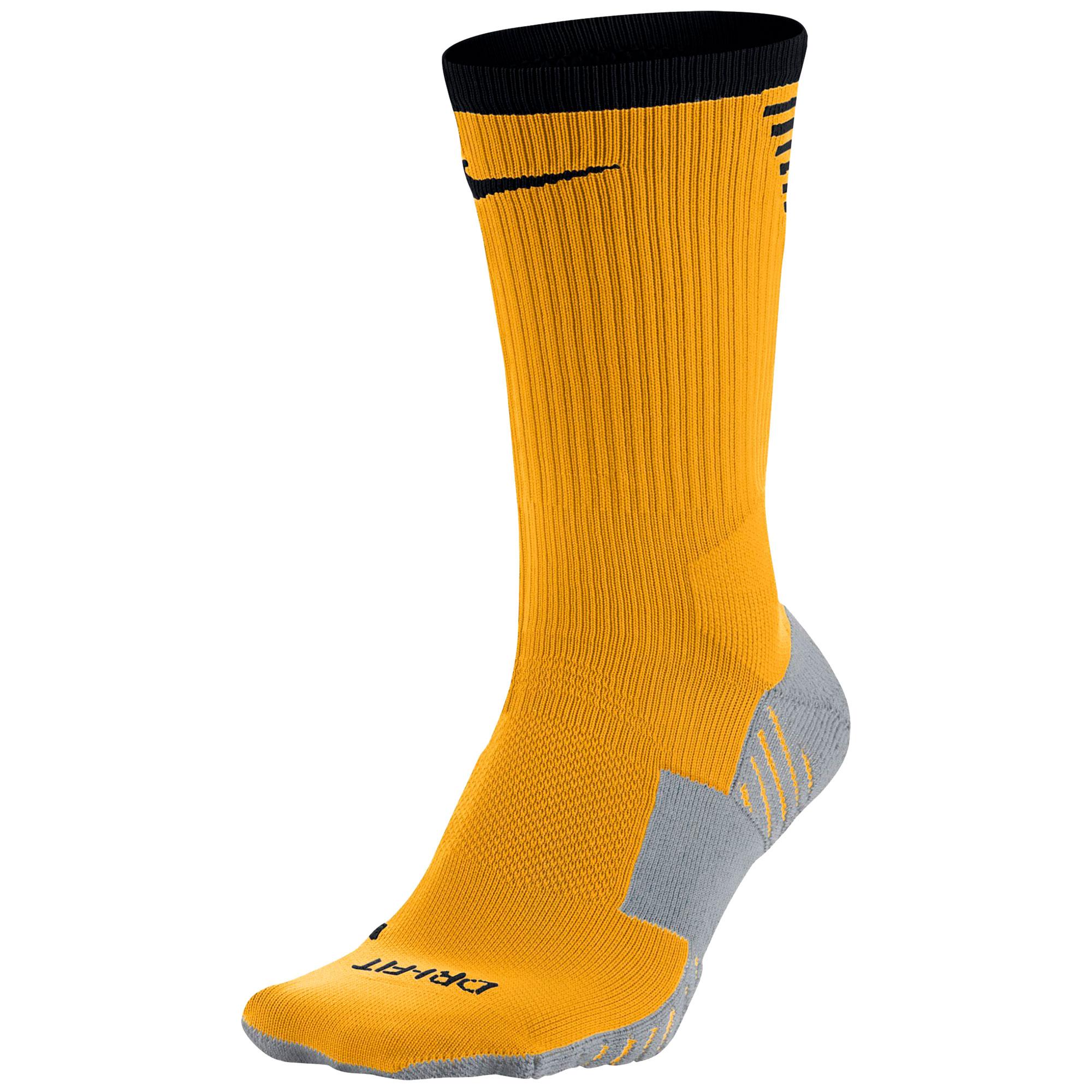 Nike Dry Squad Crew Football Sock - Laser Orange/Black
