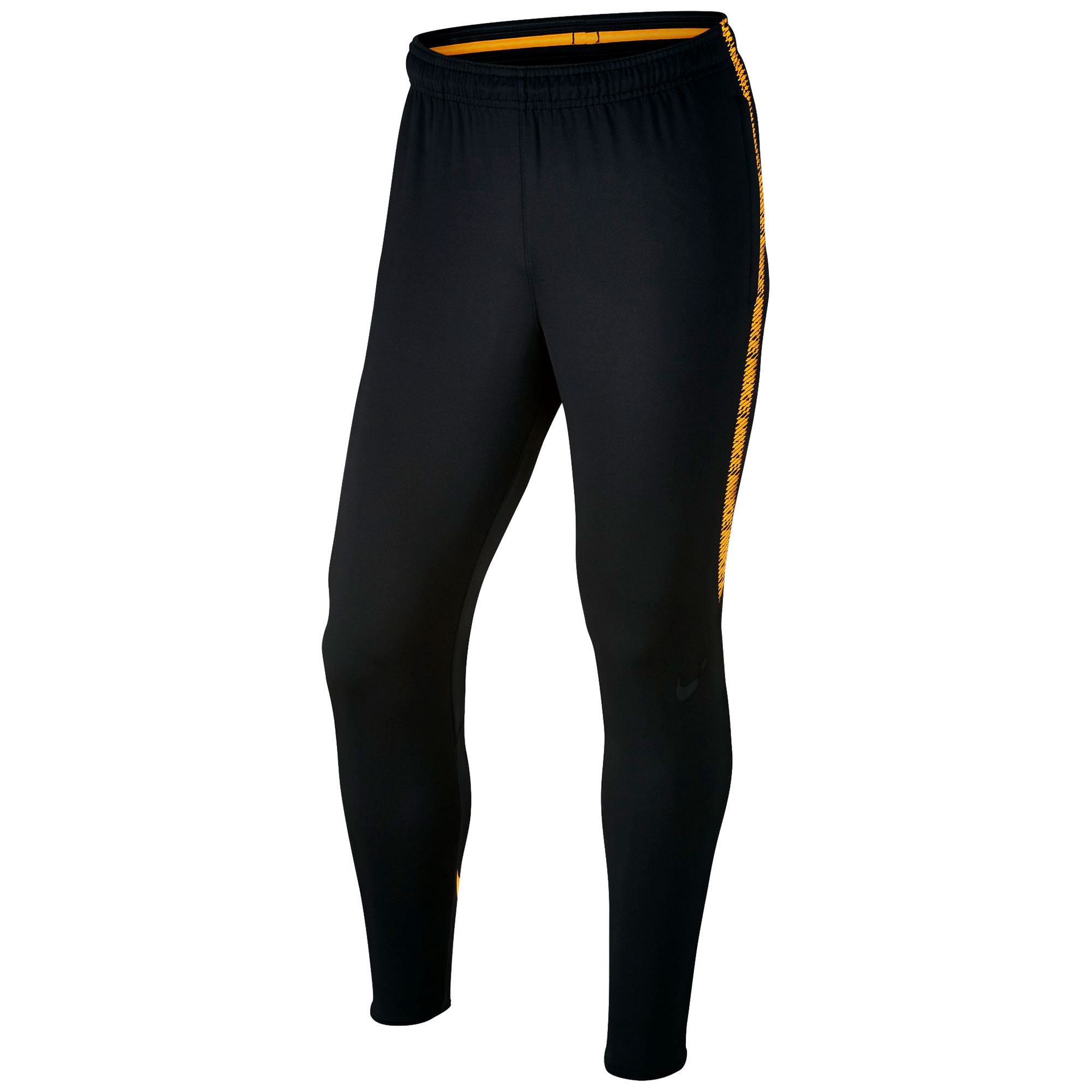 Nike Dry Squad Pants - Black/Black/Laser Orange/Black