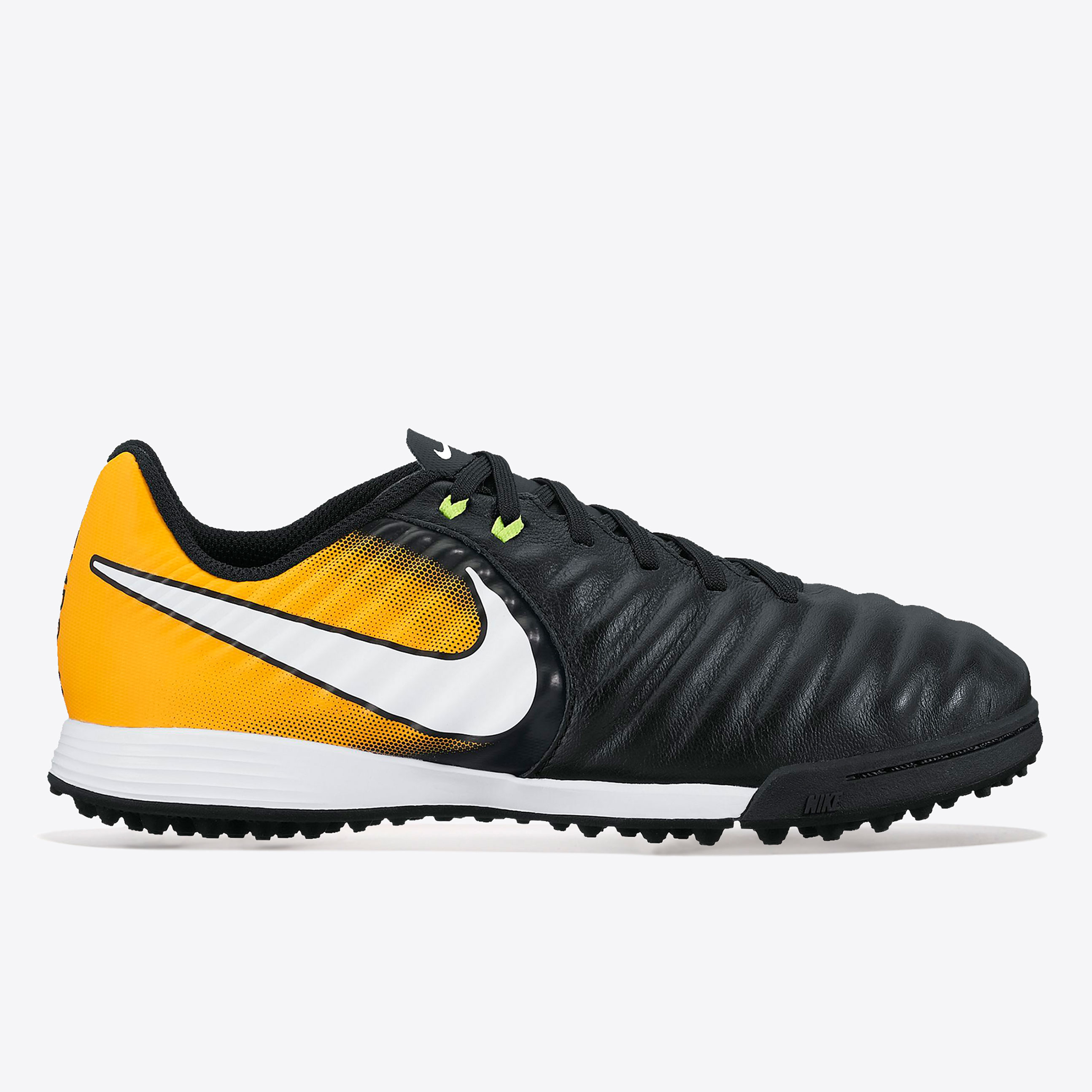 Nike Tiempo Ligera IV Astroturf Trainers - Black/White/Laser Orange/Vo