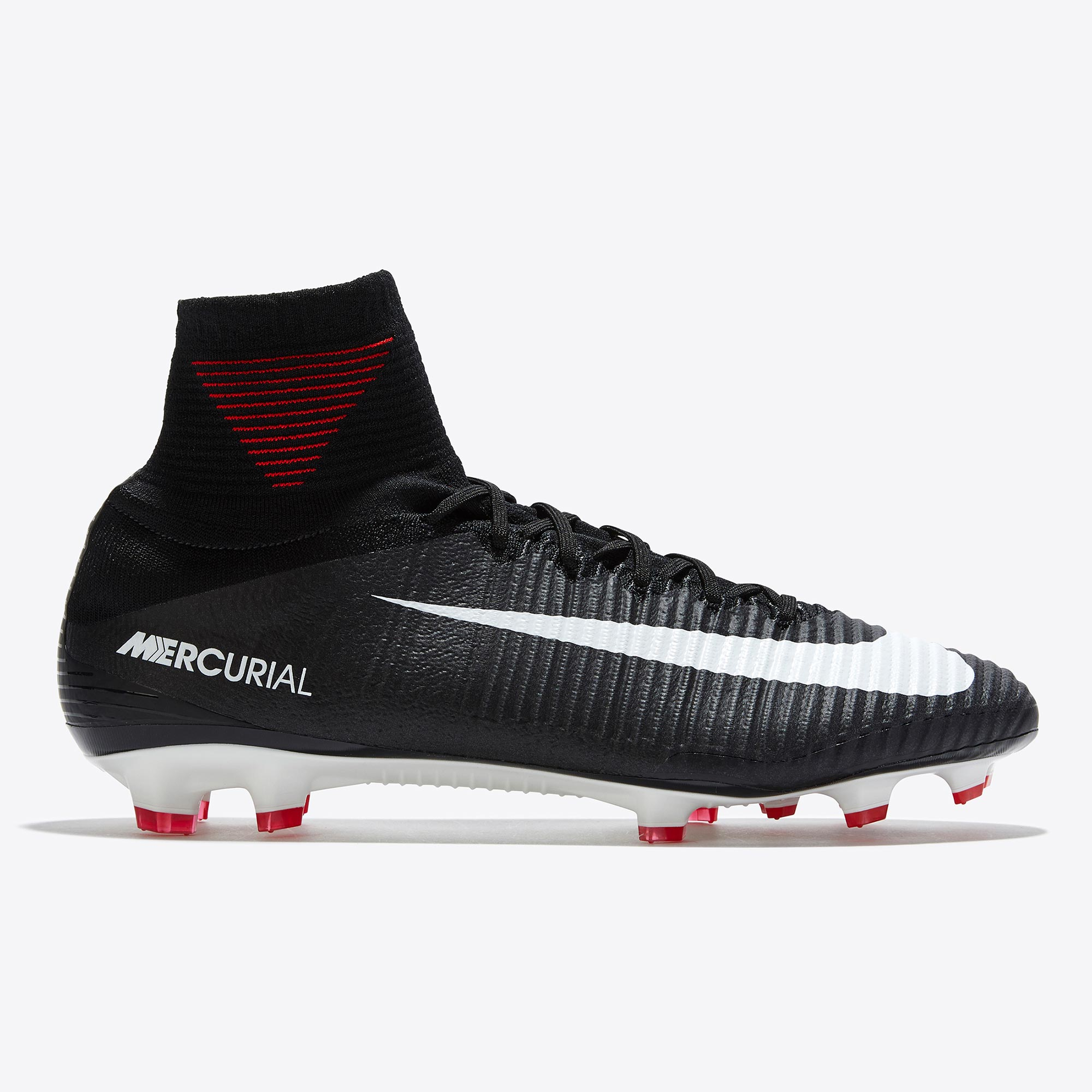 Nike Mercurial Superfly V Firm Ground Football Boots - Black/White/Dar