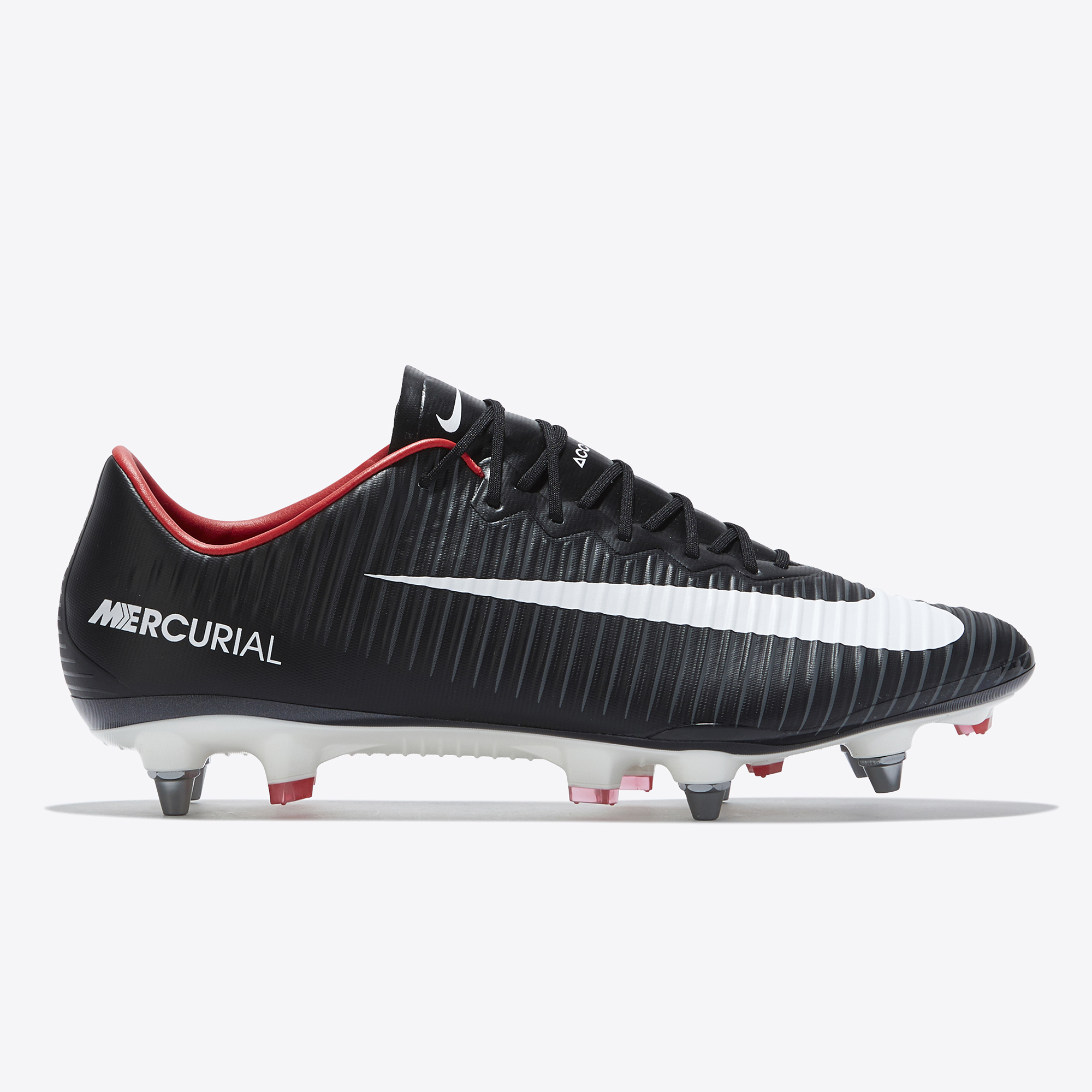 Nike Mercurial Vapor XI Soft Ground Pro Football Boots - Black/White/D