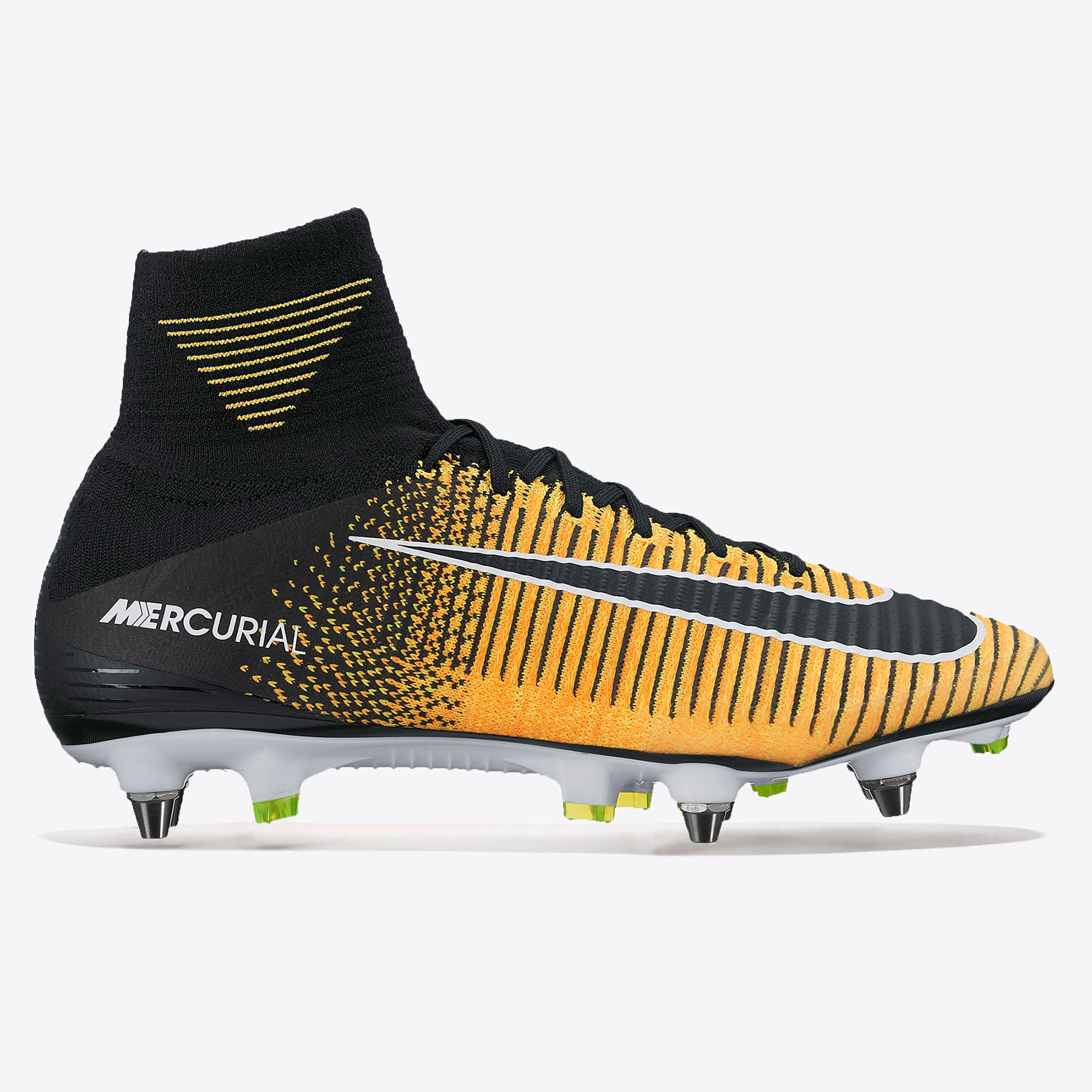 Nike Mercurial Superfly V Soft Ground Football Boots - Laser Orange/Bl