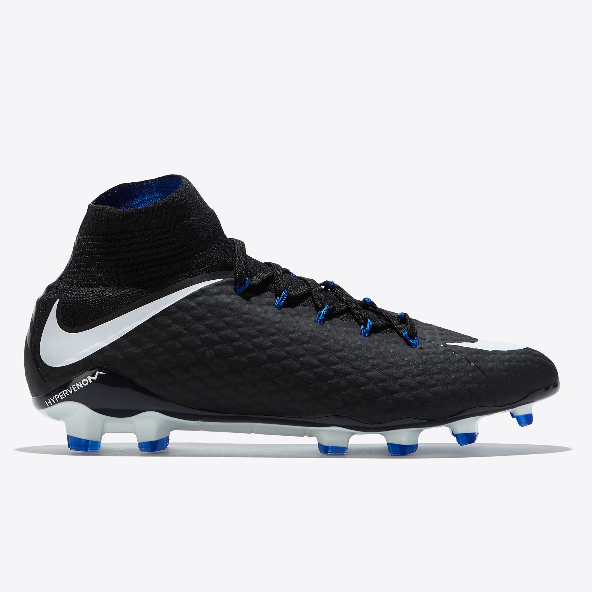 Nike Hypervenom Phatal III Dynamic Fit Firm Ground Football Boots - Bl