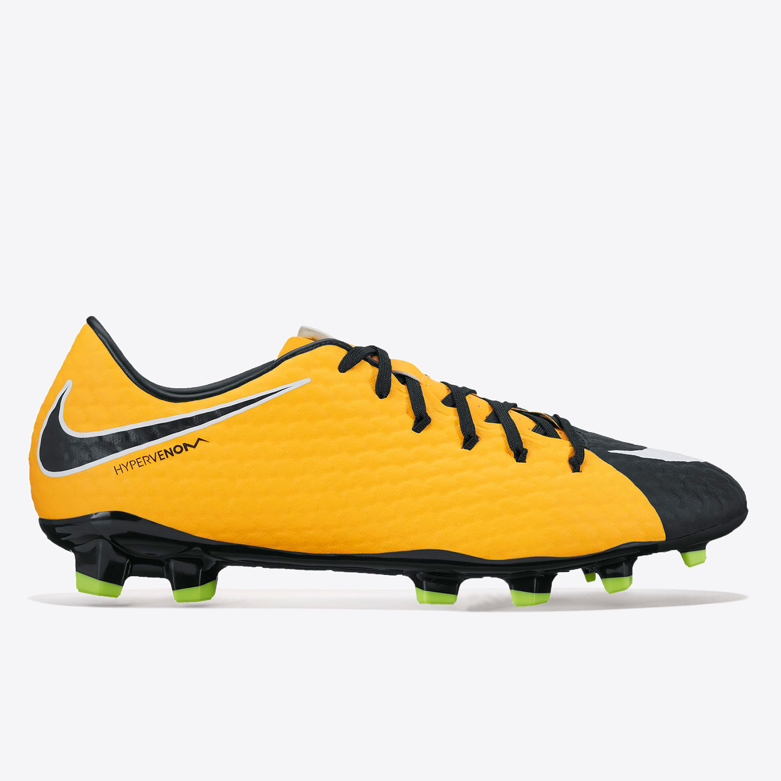 Nike Hypervenom Phelon III Firm Ground Football Boots - Laser Orange/B