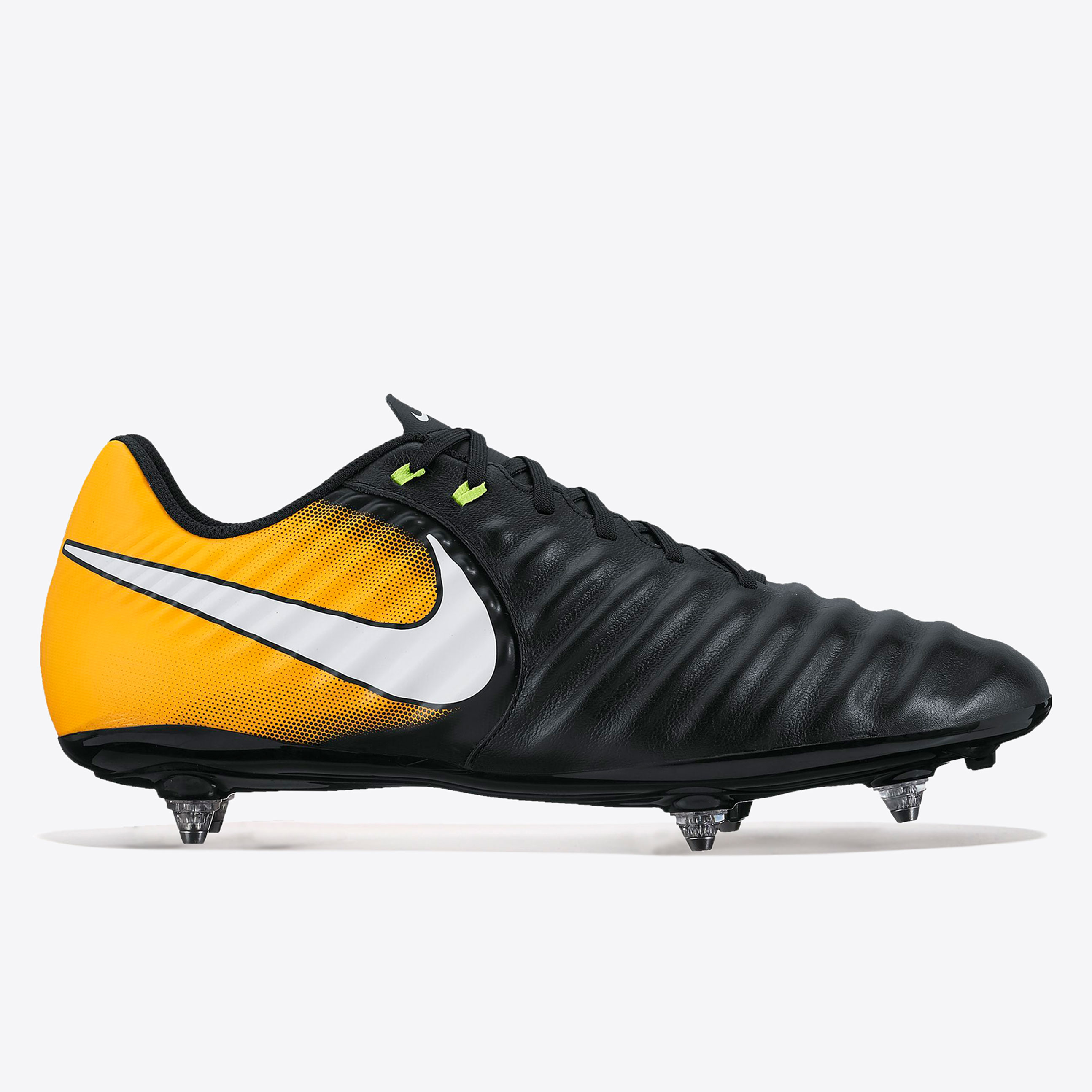 Nike Tiempo Ligera IV Soft Ground Football Boots - Black/White/Laser O