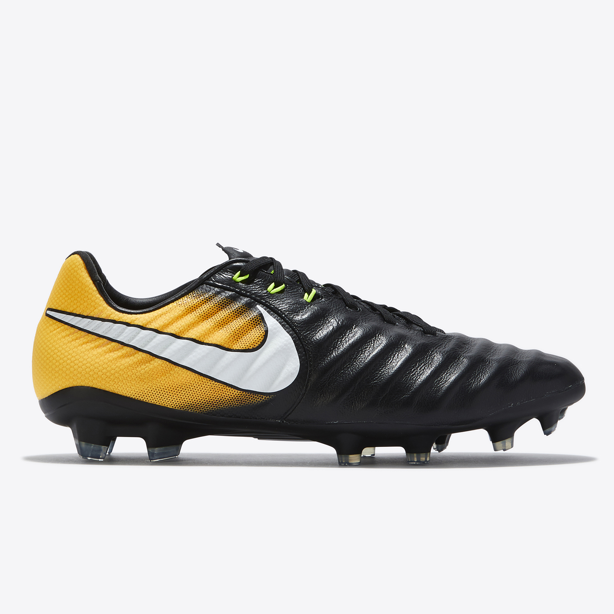 Nike Tiempo Legacy III Firm Ground Football Boots - Black/White/Laser