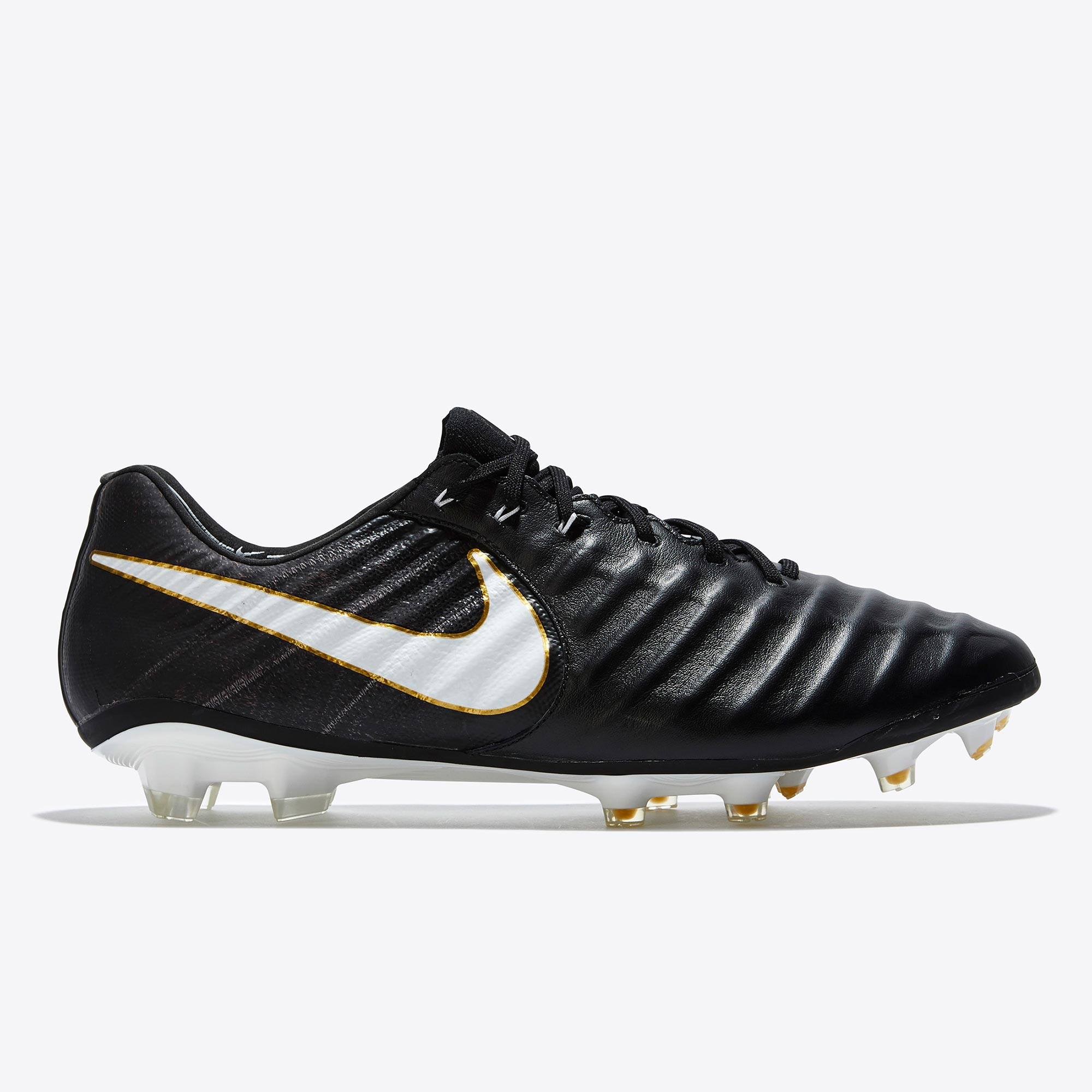 Nike Tiempo Legend VII Firm Ground Football Boots - Black/White/Black