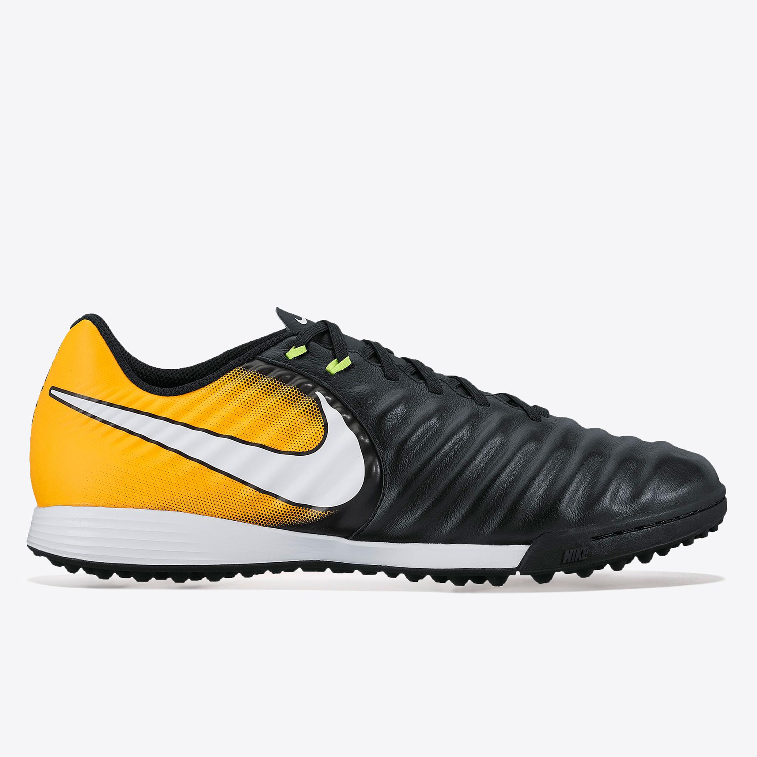 Nike Tiempo Ligera IV Astroturf Trainers - Black/White/Laser Orange/Vo