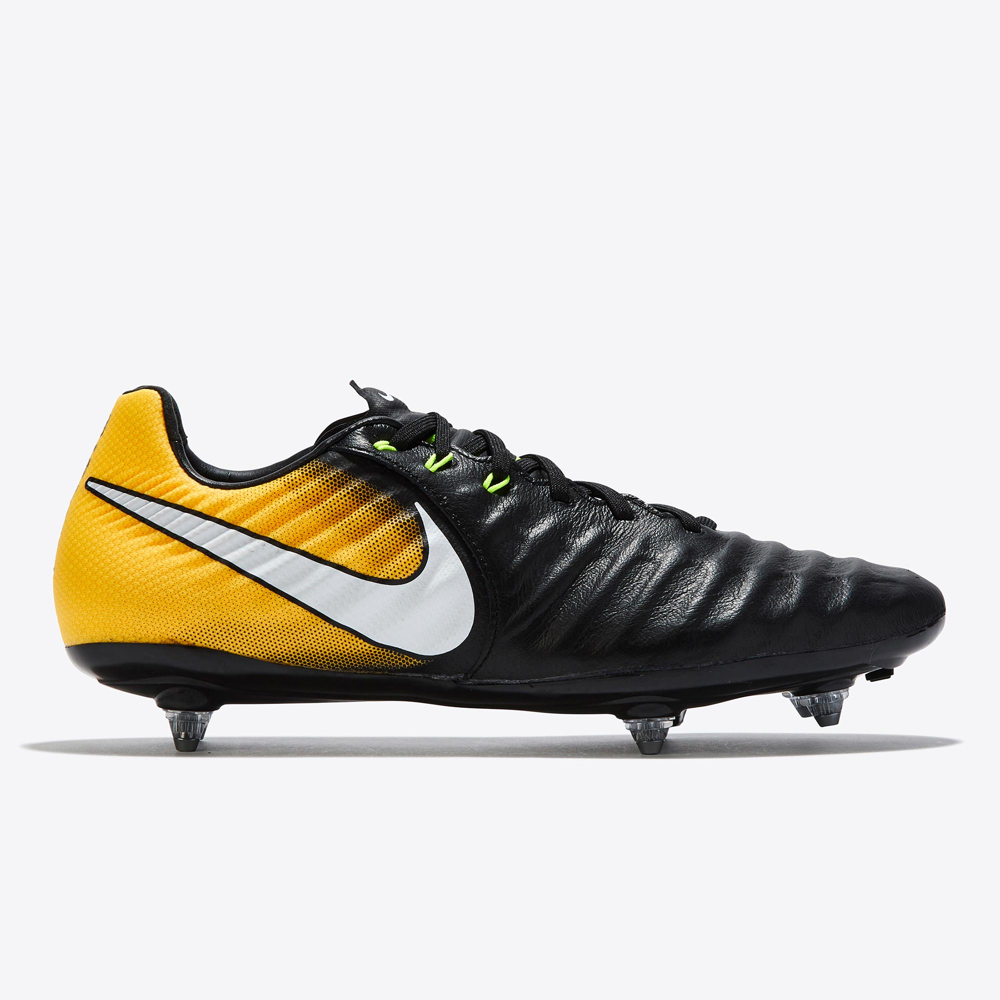 Nike Tiempo Legacy III Soft Ground Football Boots - Black/White/Laser