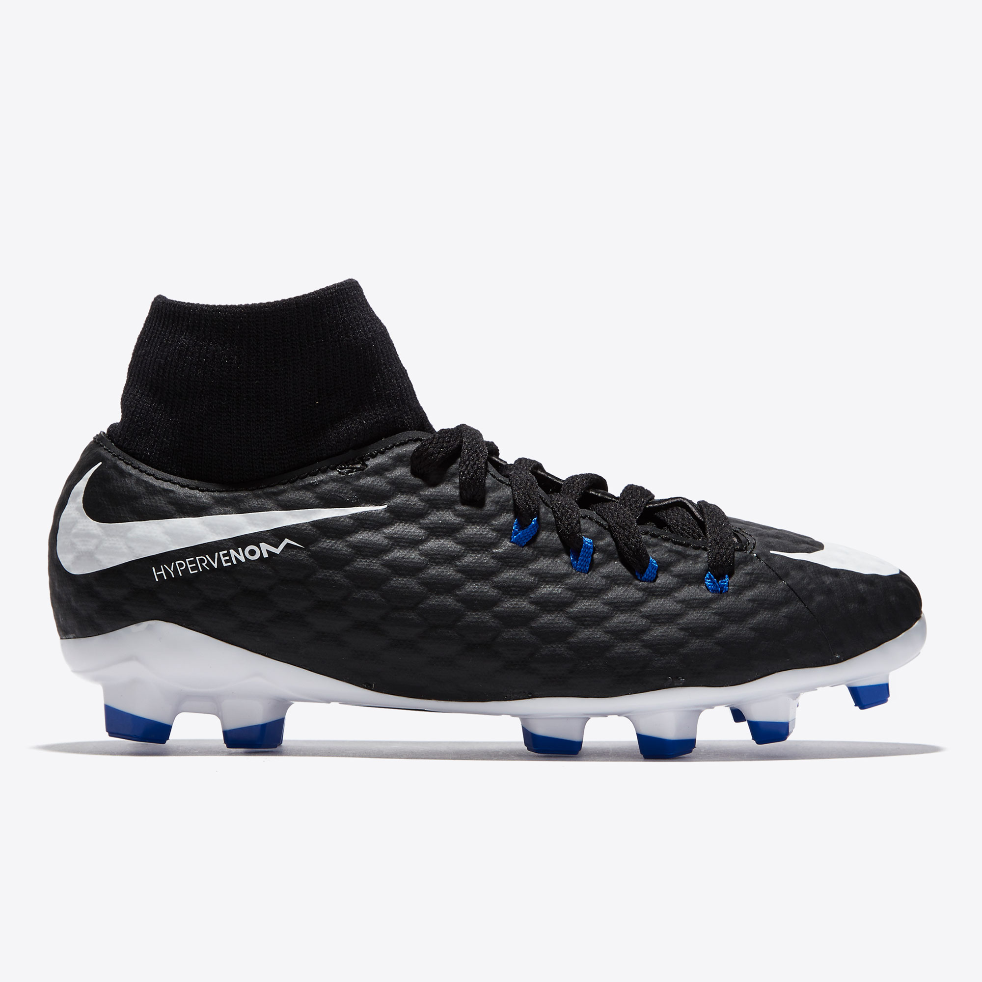 Nike Hypervenom Phelon III Dynamic Fit Firm Ground Football Boots - Bl