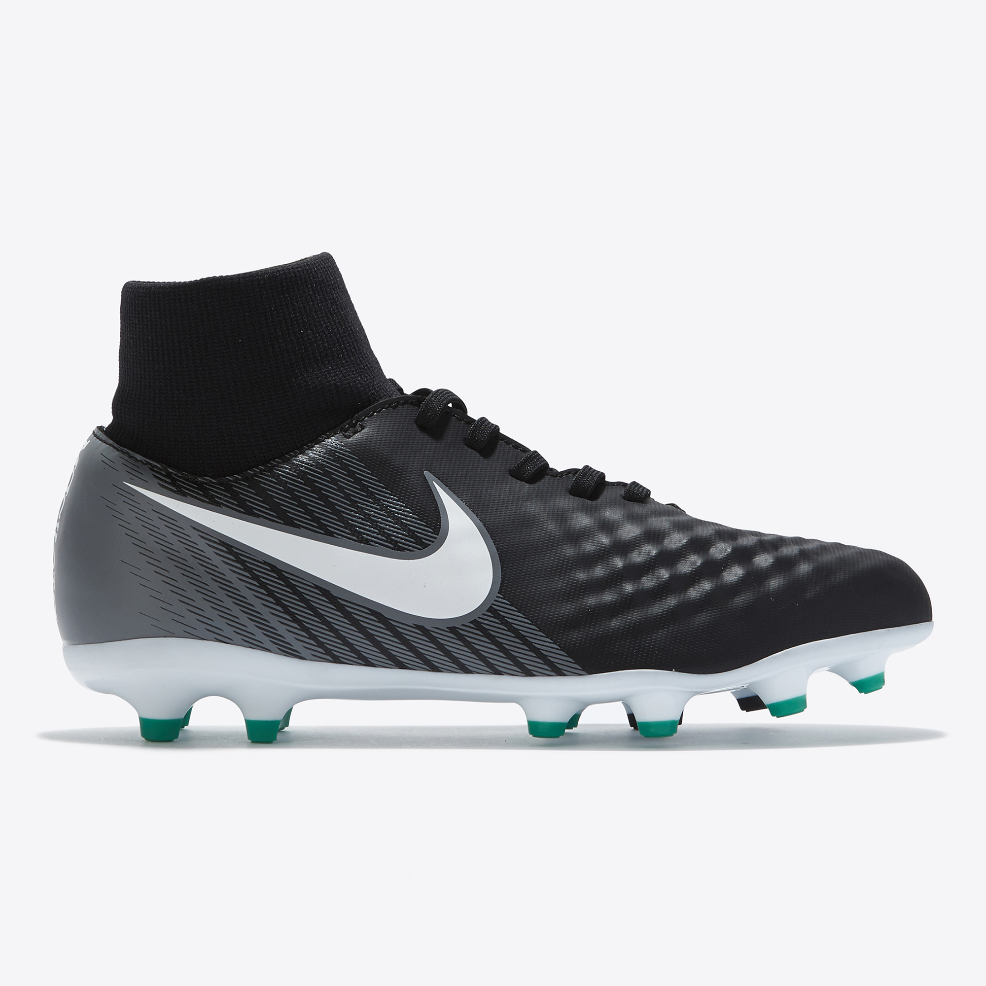Nike Magista Onda II Dynamic Fit Firm Ground Football Boots - Black/Wh