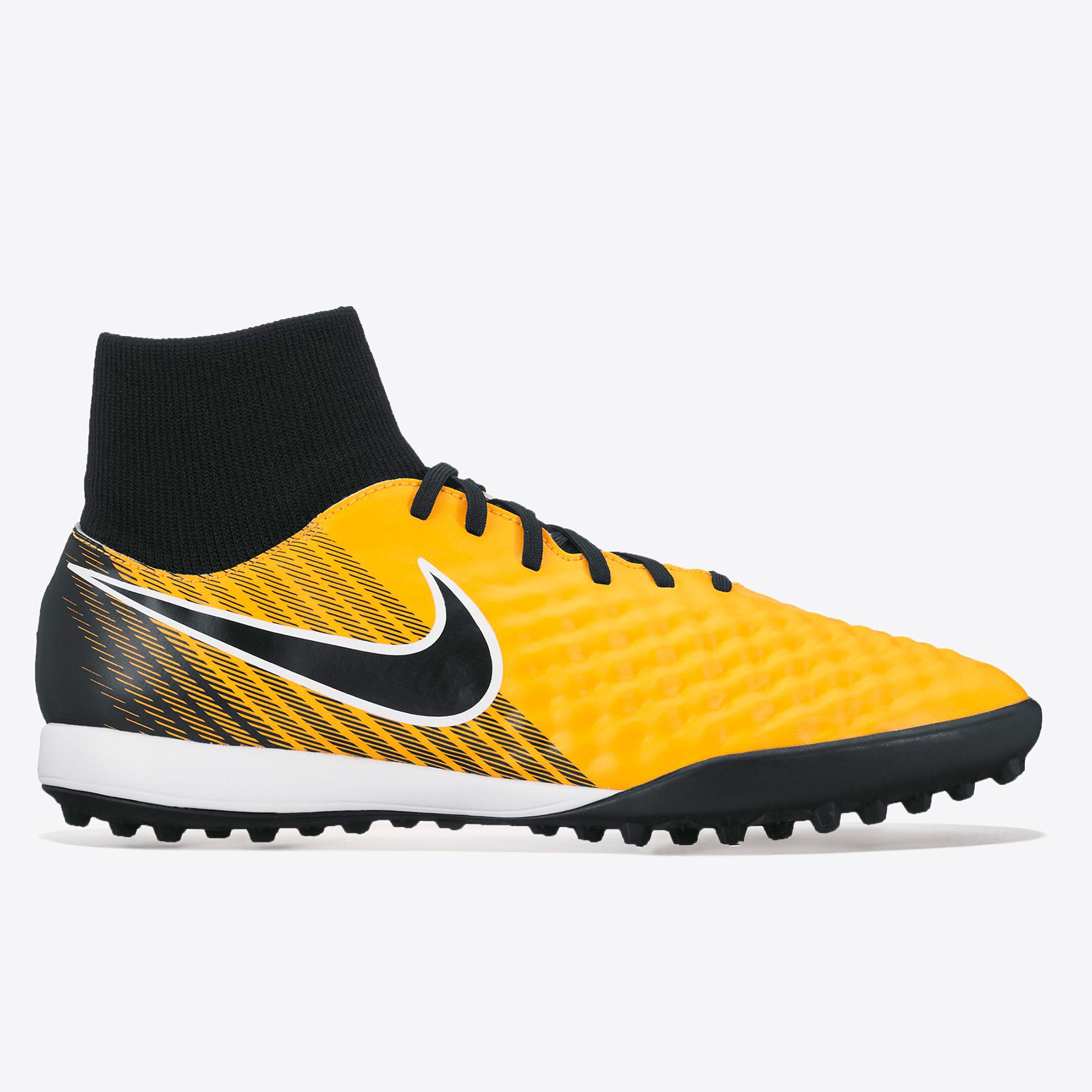Nike Magista Onda II Dynamic Fit Astroturf Trainers - Laser Orange/Bla