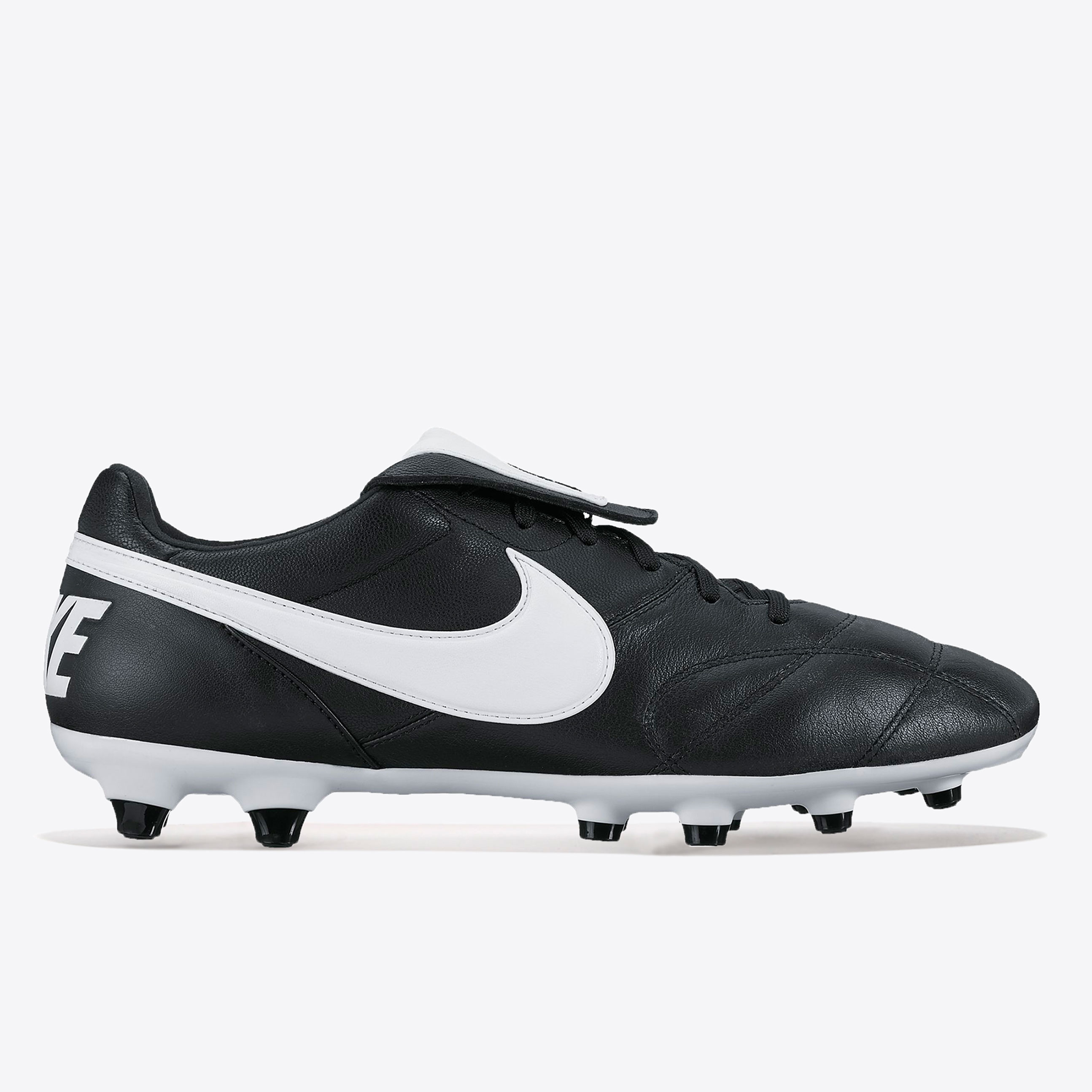Nike Premier II Firm Ground Football Boots - Black/White/Black
