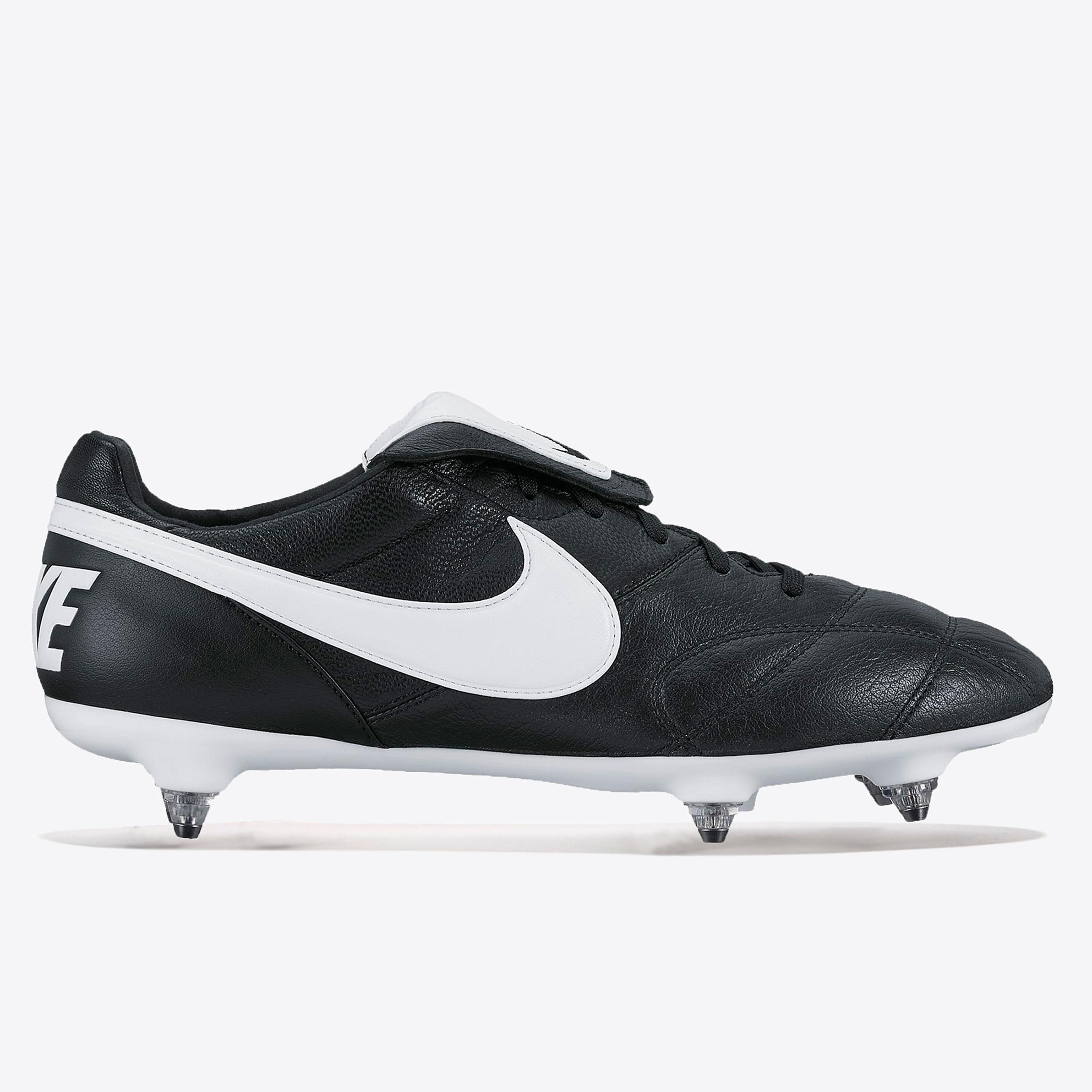 Nike Premier II Soft Ground Football Boots - Black/White/Black