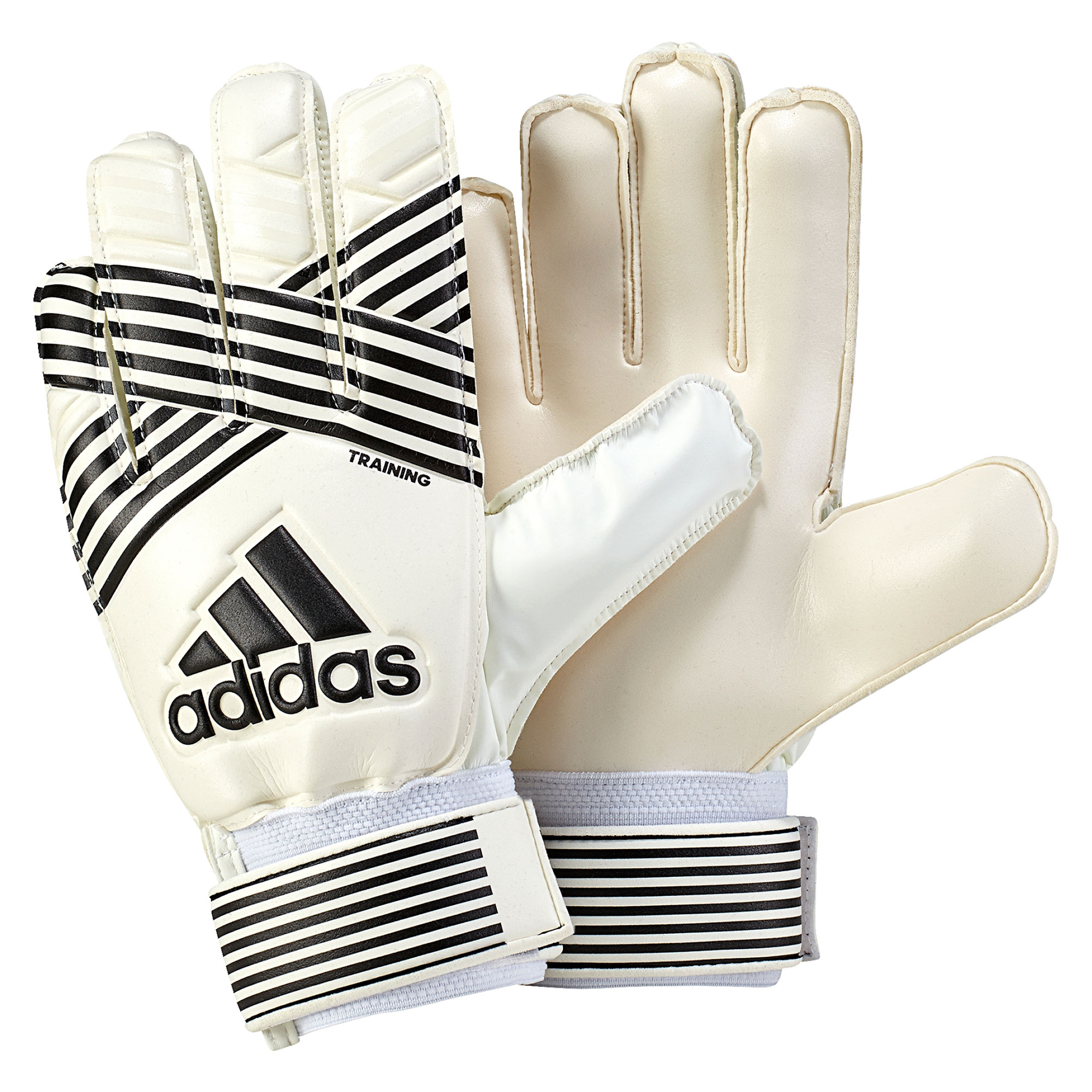 Image of adidas Ace Training Goalkeeper Gloves - Clear Onix/Core Black/Onix/White