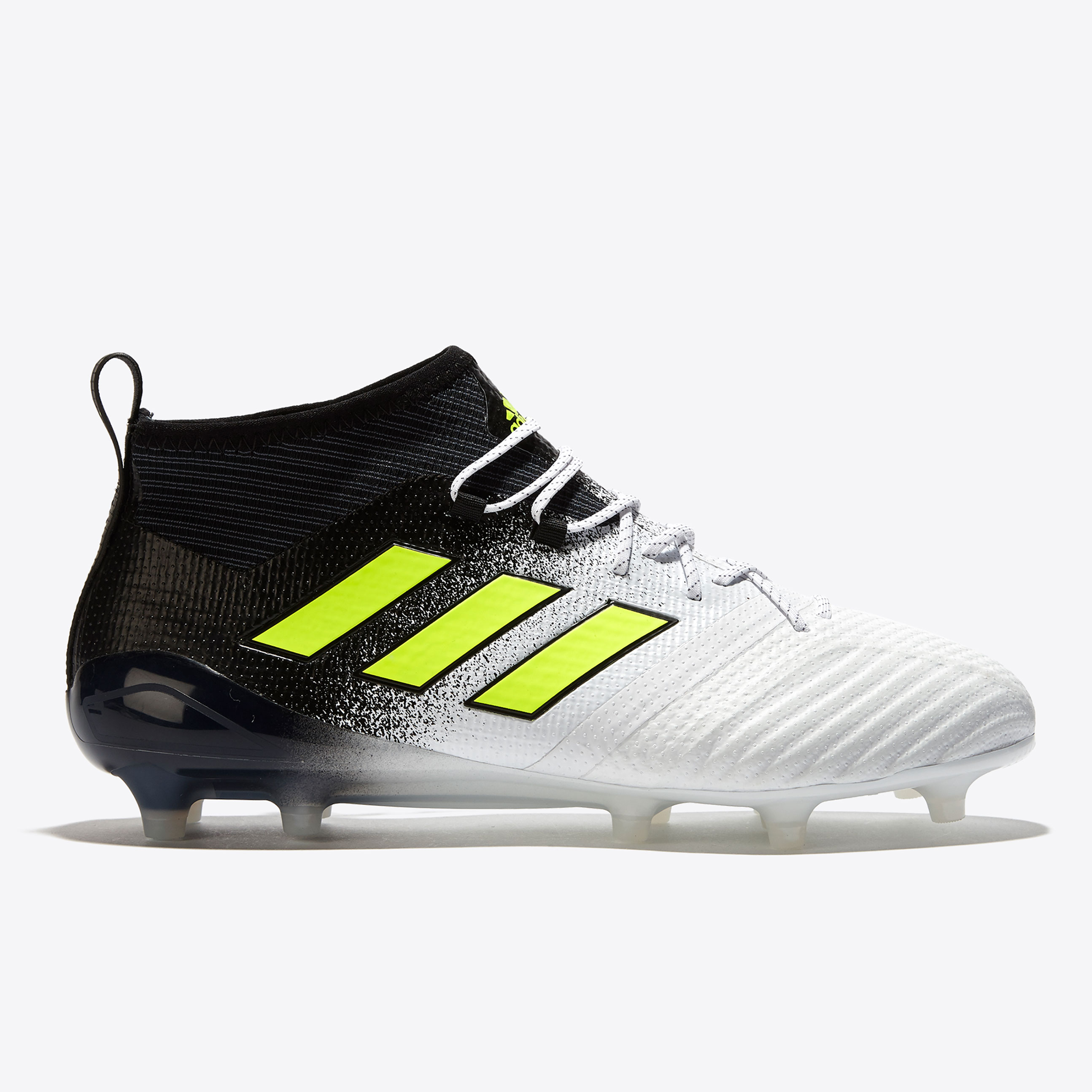 adidas Ace 17.1 Firm Ground Football Boots - White/Solar Yellow/Core B