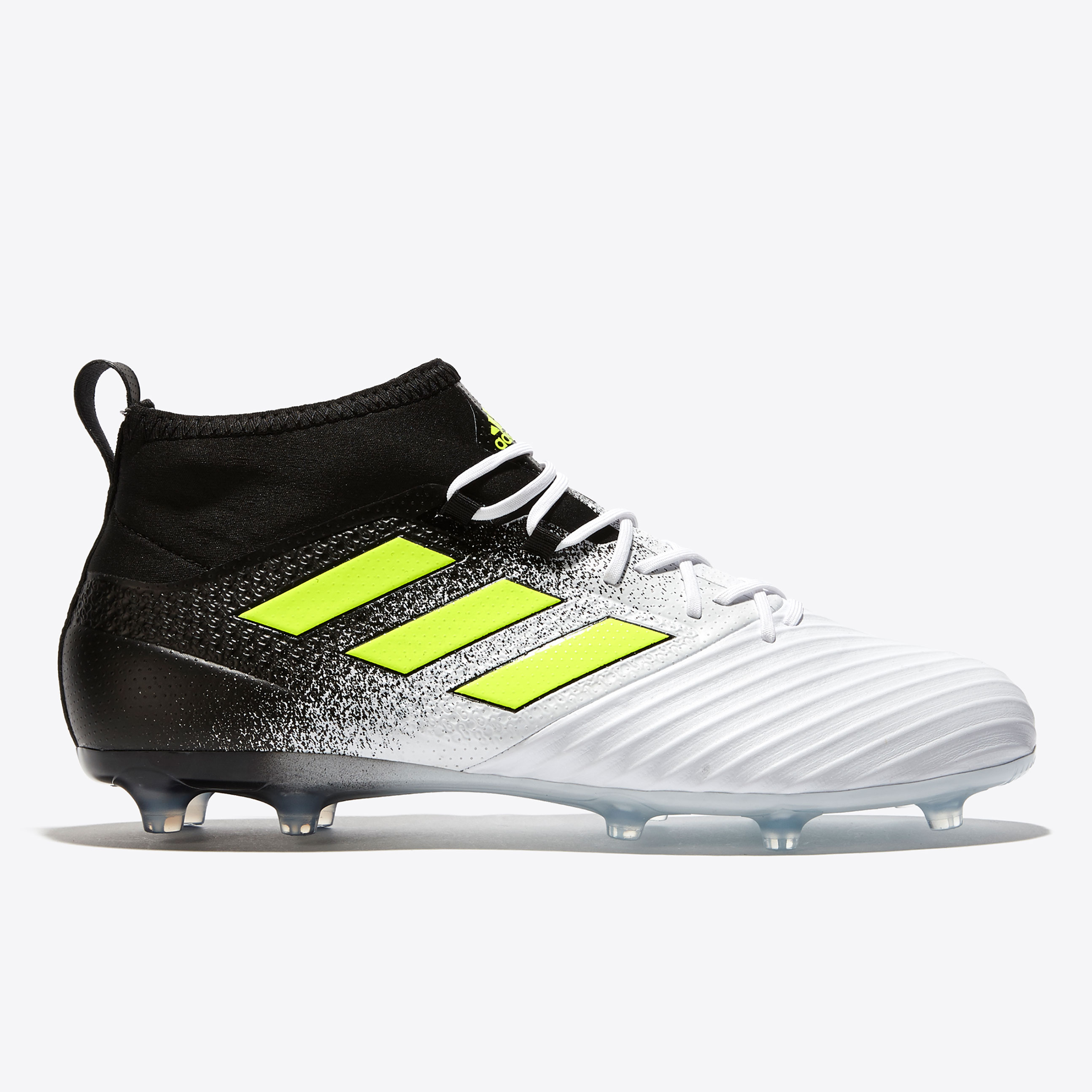 adidas Ace 17.2 Firm Ground Football Boots - White/Solar Yellow/Core B