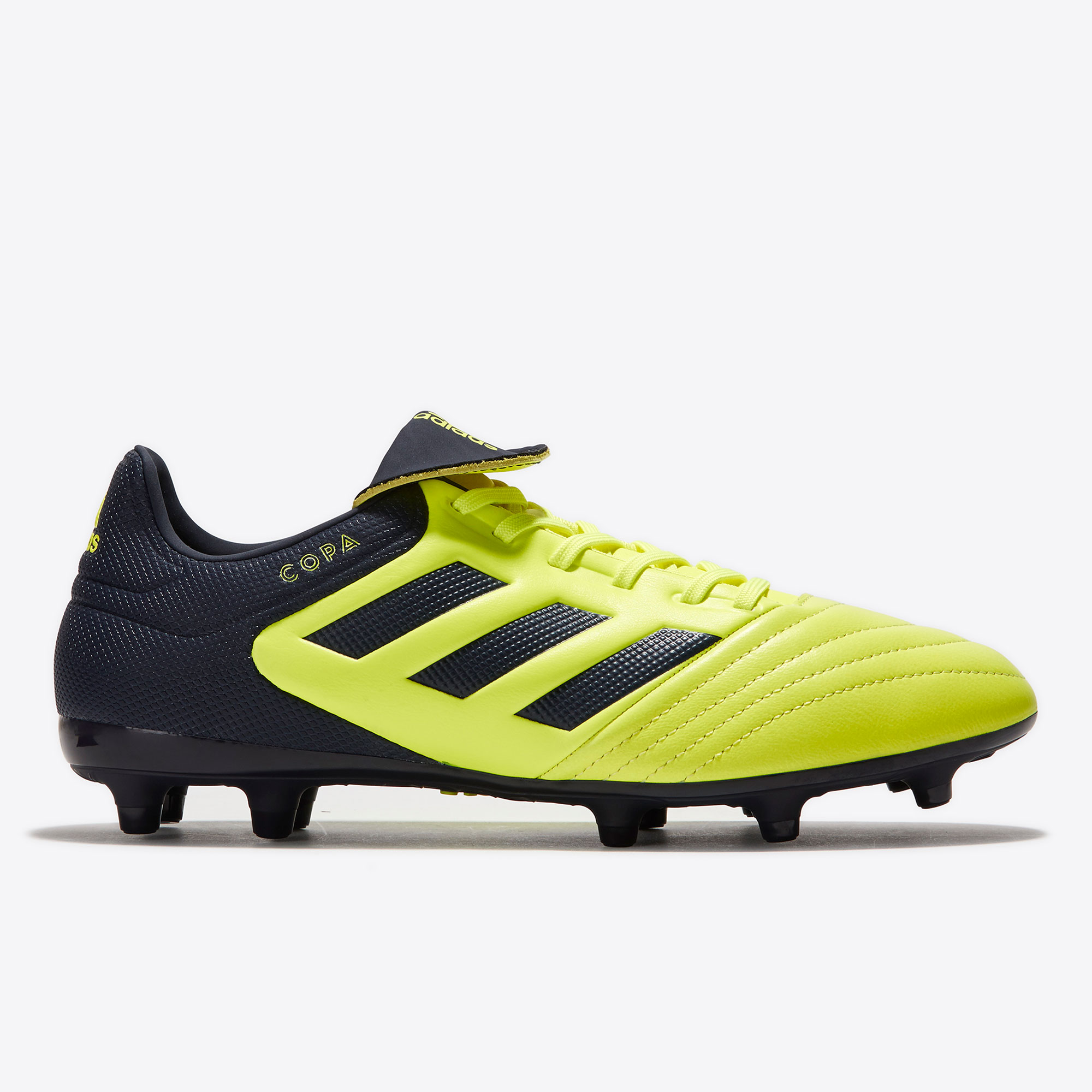 adidas Copa 17.3 Firm Ground Football Boots - Solar Yellow/Legend Ink/