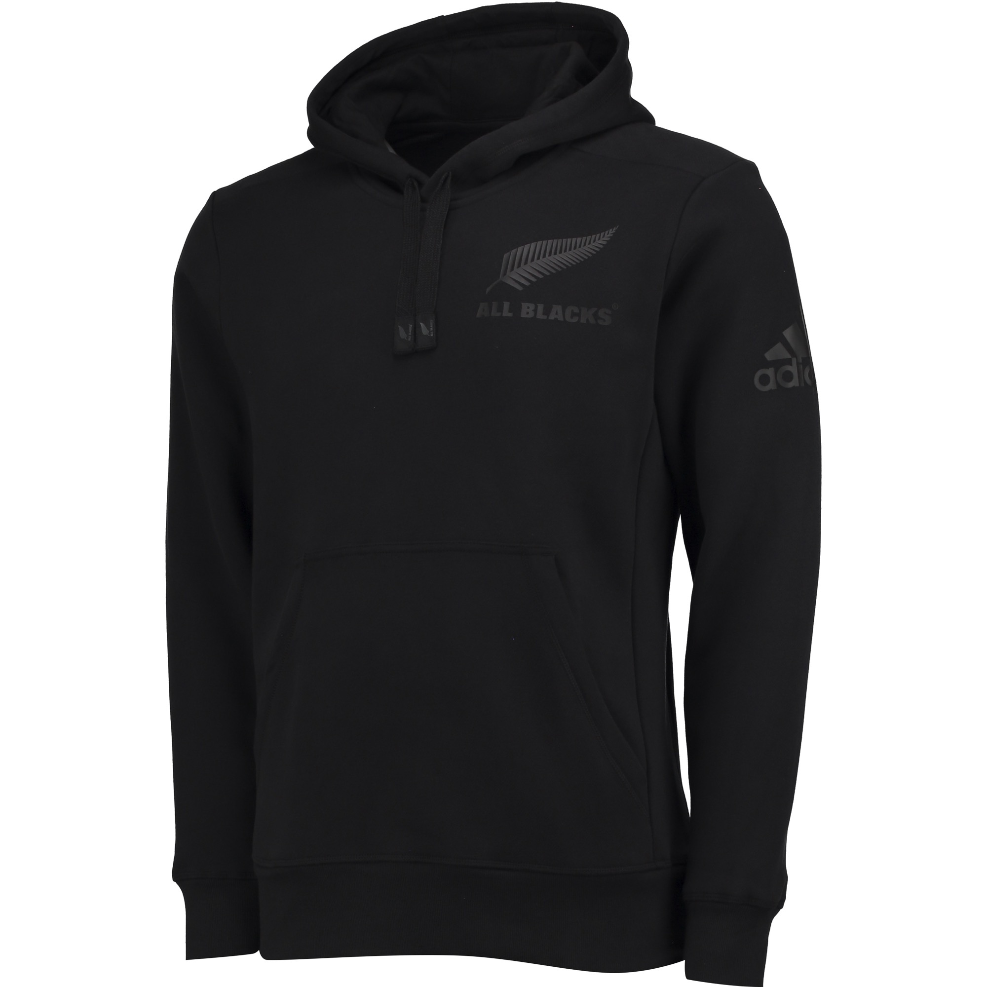 """Image of """"All Blacks Rugby Supporters Hoodie - Black"""""""