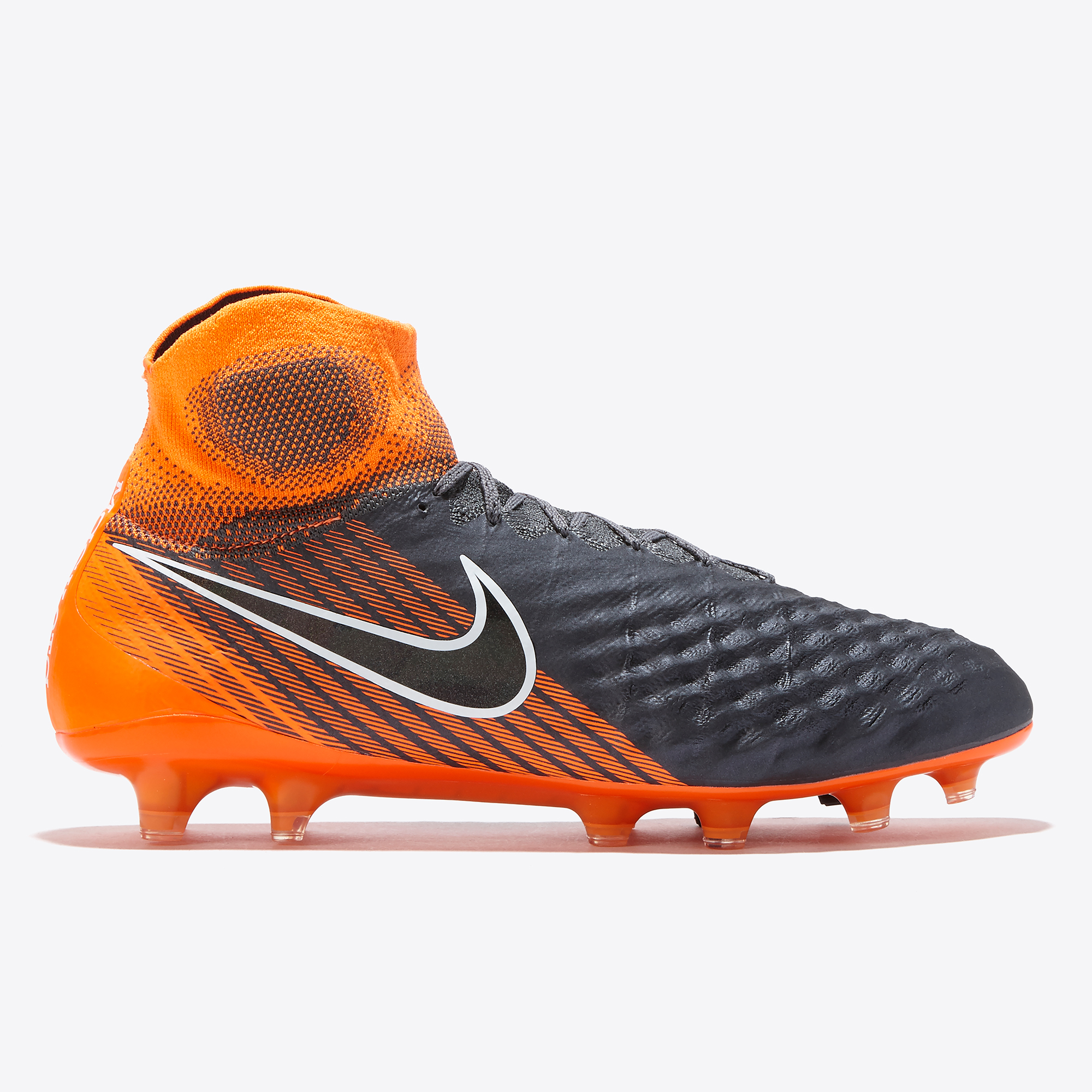 91ffe7a7059f Nike Magista Obra II Elite Dynamic Fit FG Firm-Ground Football Boot - Grey