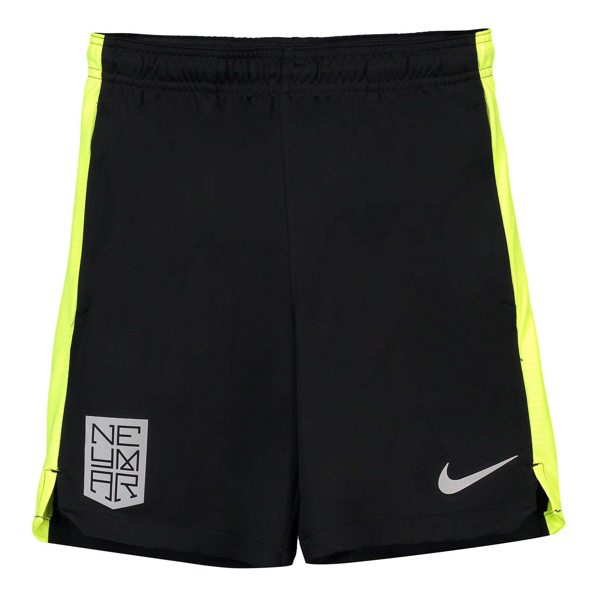 Nike Neymar Dry Squad Training Shorts - Black - Kids