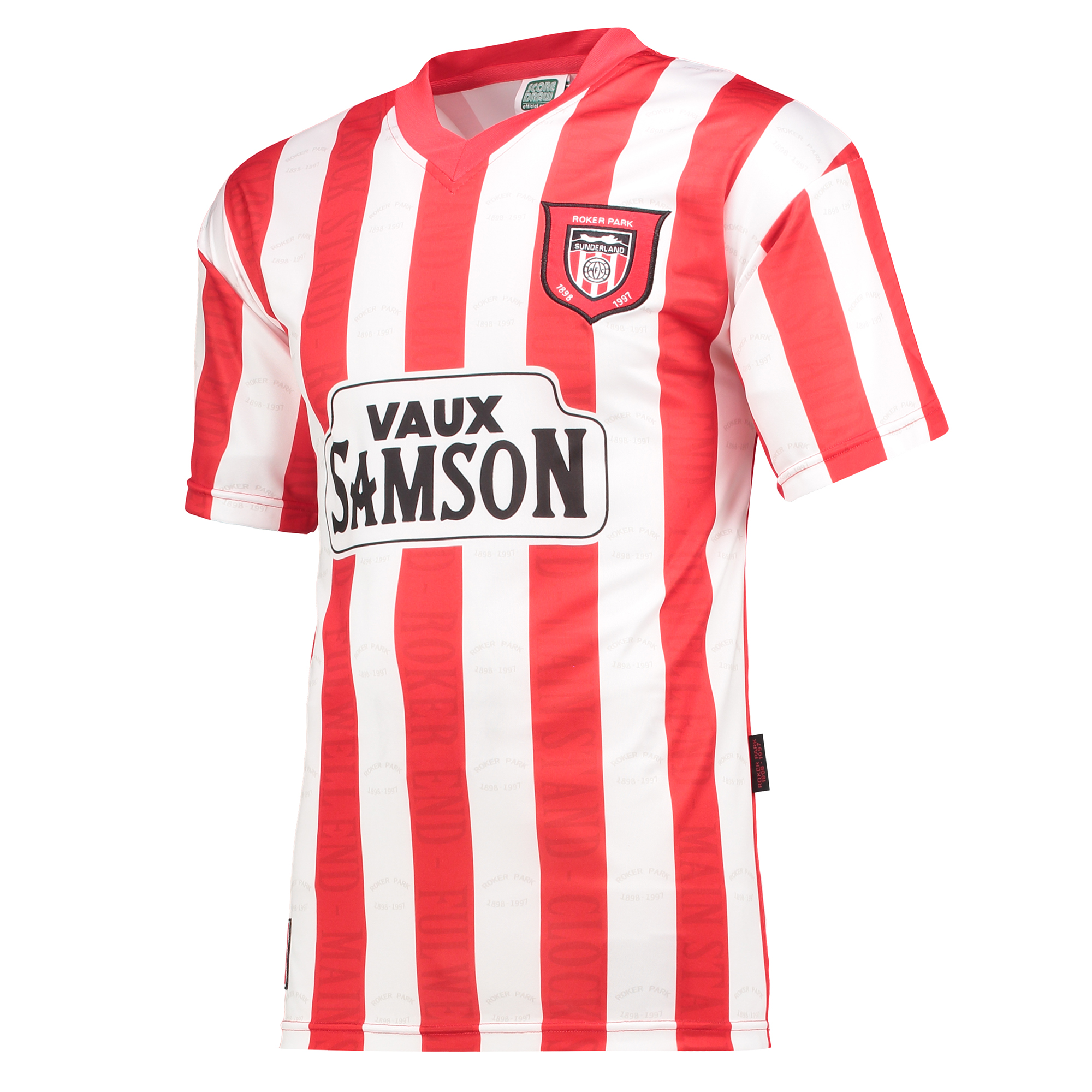 Sunderland Retro home shirt