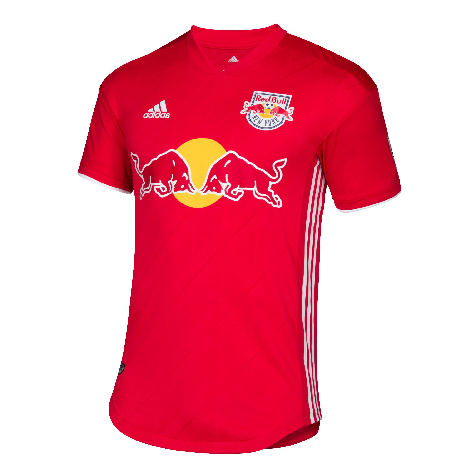 5a29f82cdf7db adidas New York Red Bulls Mens SS Player Issue Away Shirt 2019