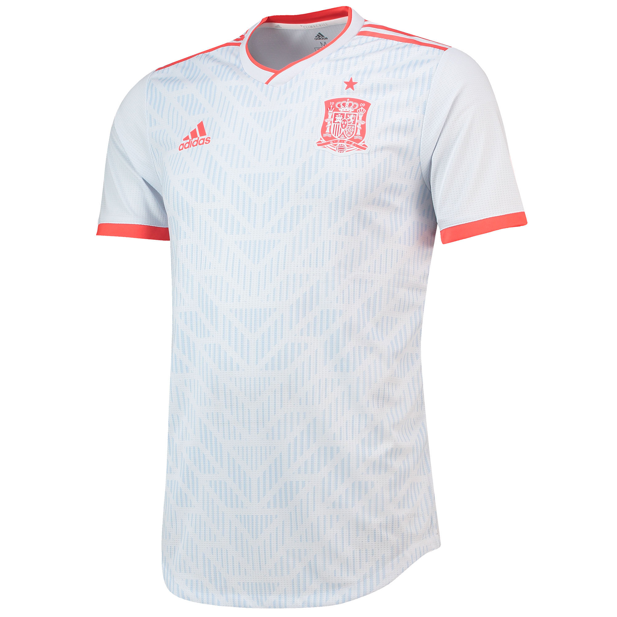 Spain Authentic Away Shirt 2018