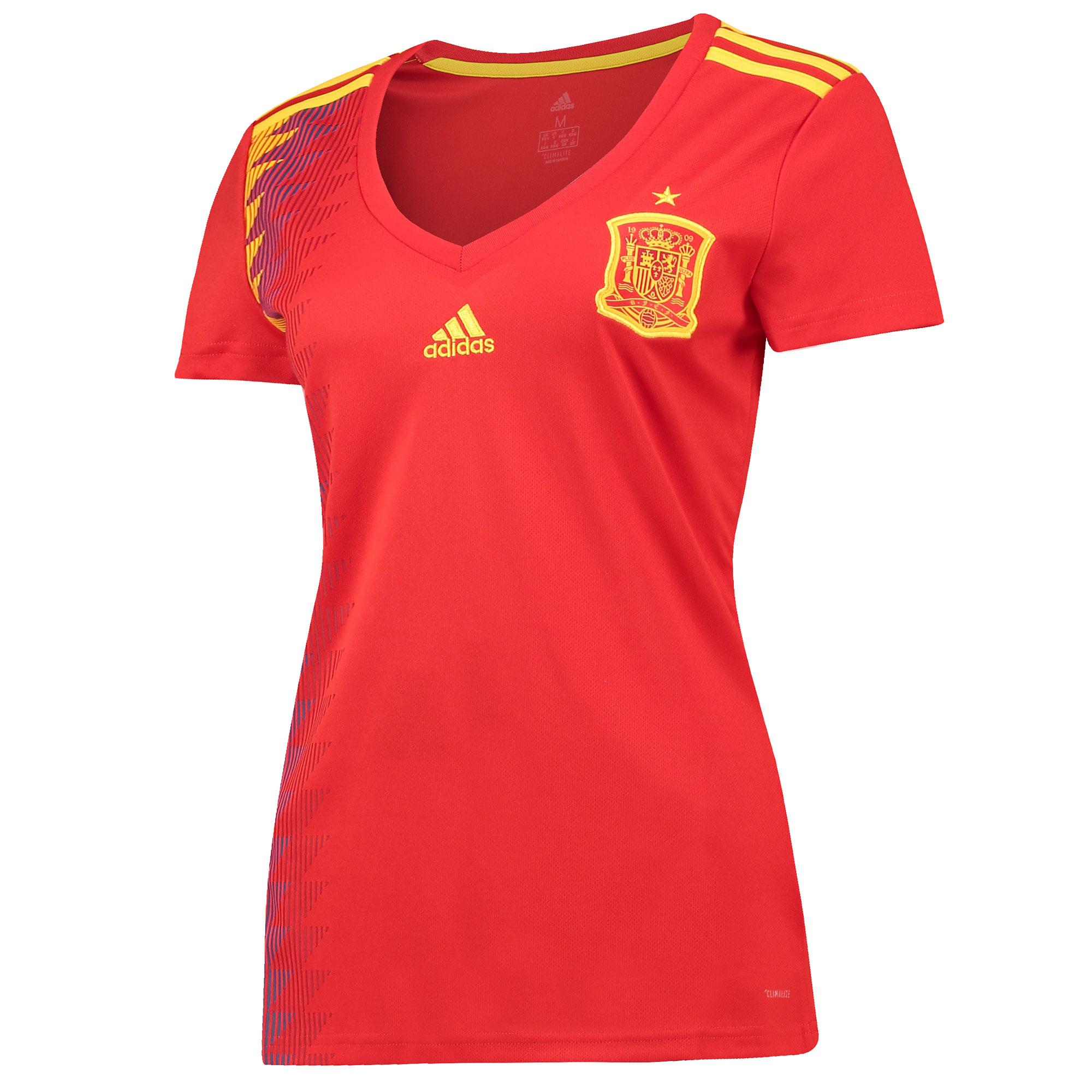 Spain Home Shirt 2018 - Womens