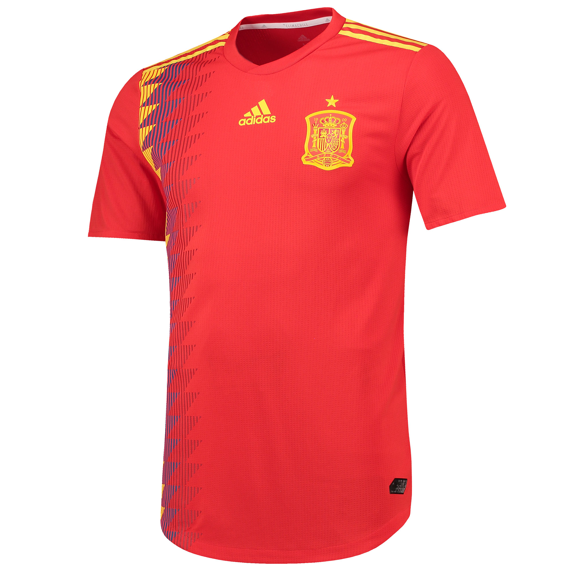 Spain Authentic Home Shirt 2018