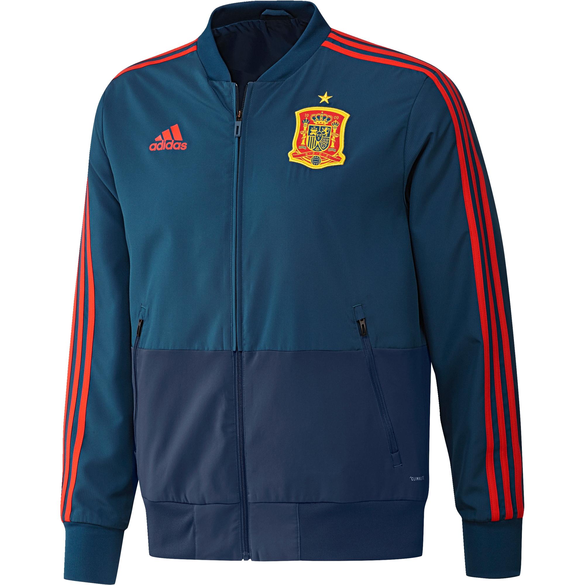 Chaqueta de entrenamiento Presentation de España en azul