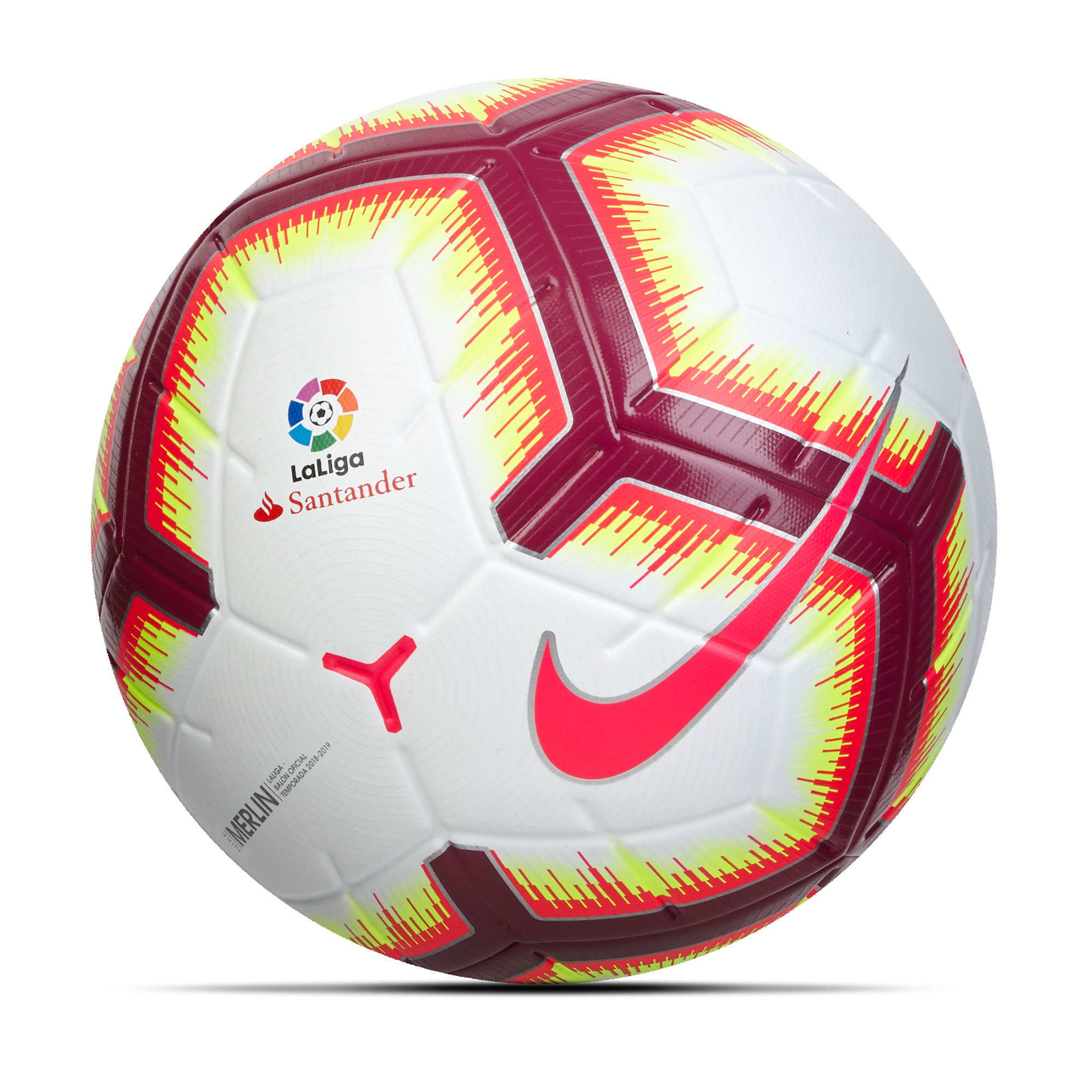 Ballon de football officiel Nike La Liga Merlin - Blanc