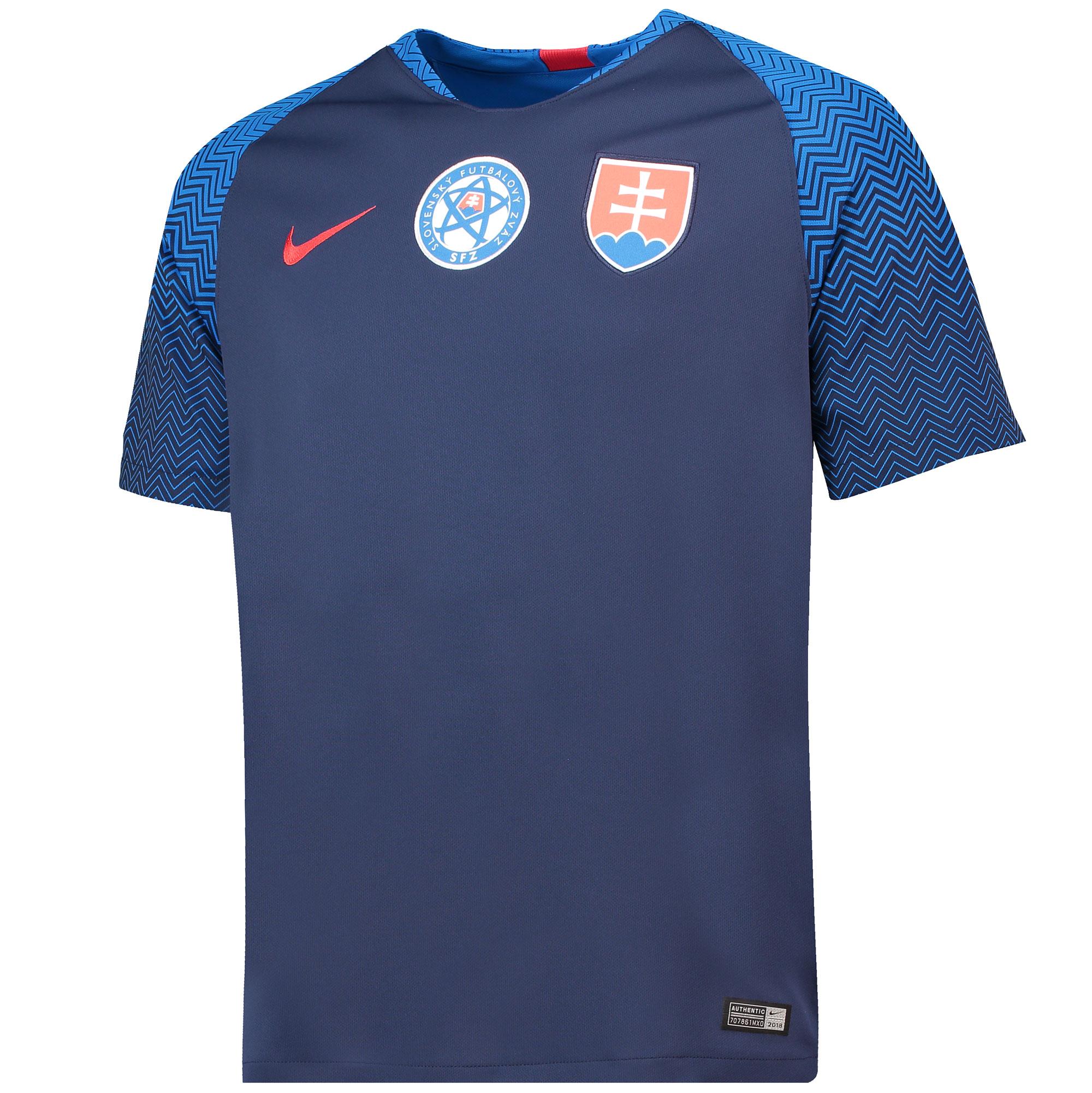 Slovakia Away Stadium Shirt 2018
