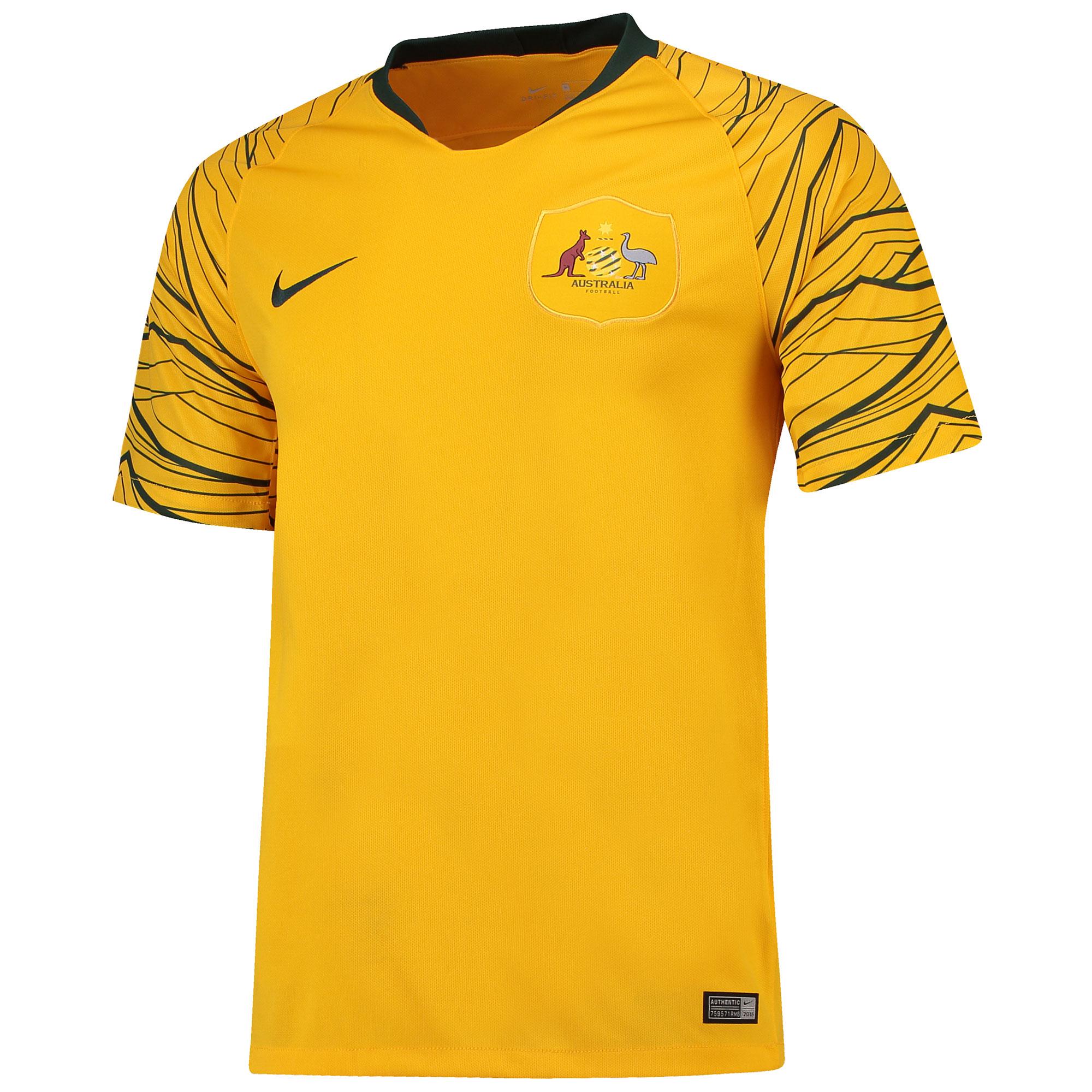 Australia Home Stadium Shirt 2018