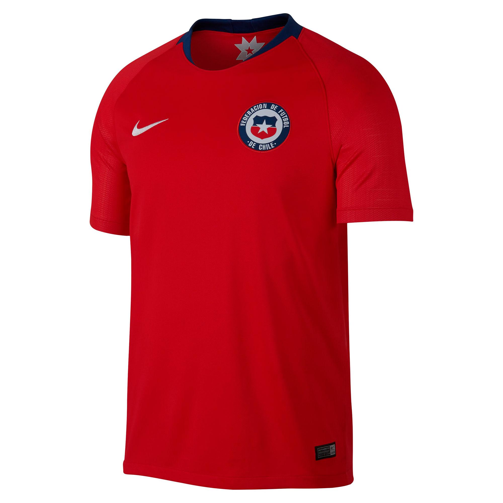 Chile Home Stadium Shirt 2018
