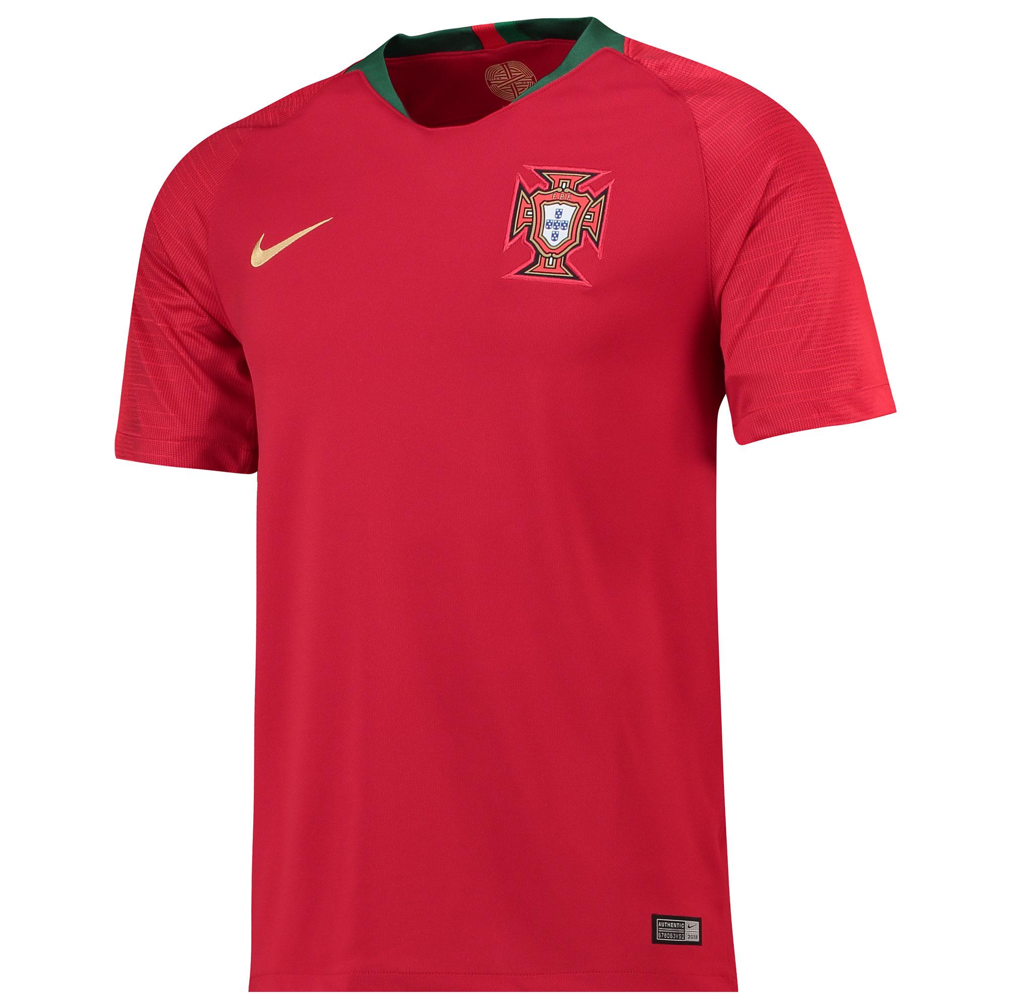 Camiseta Stadium de la equipación local de Portugal 2018