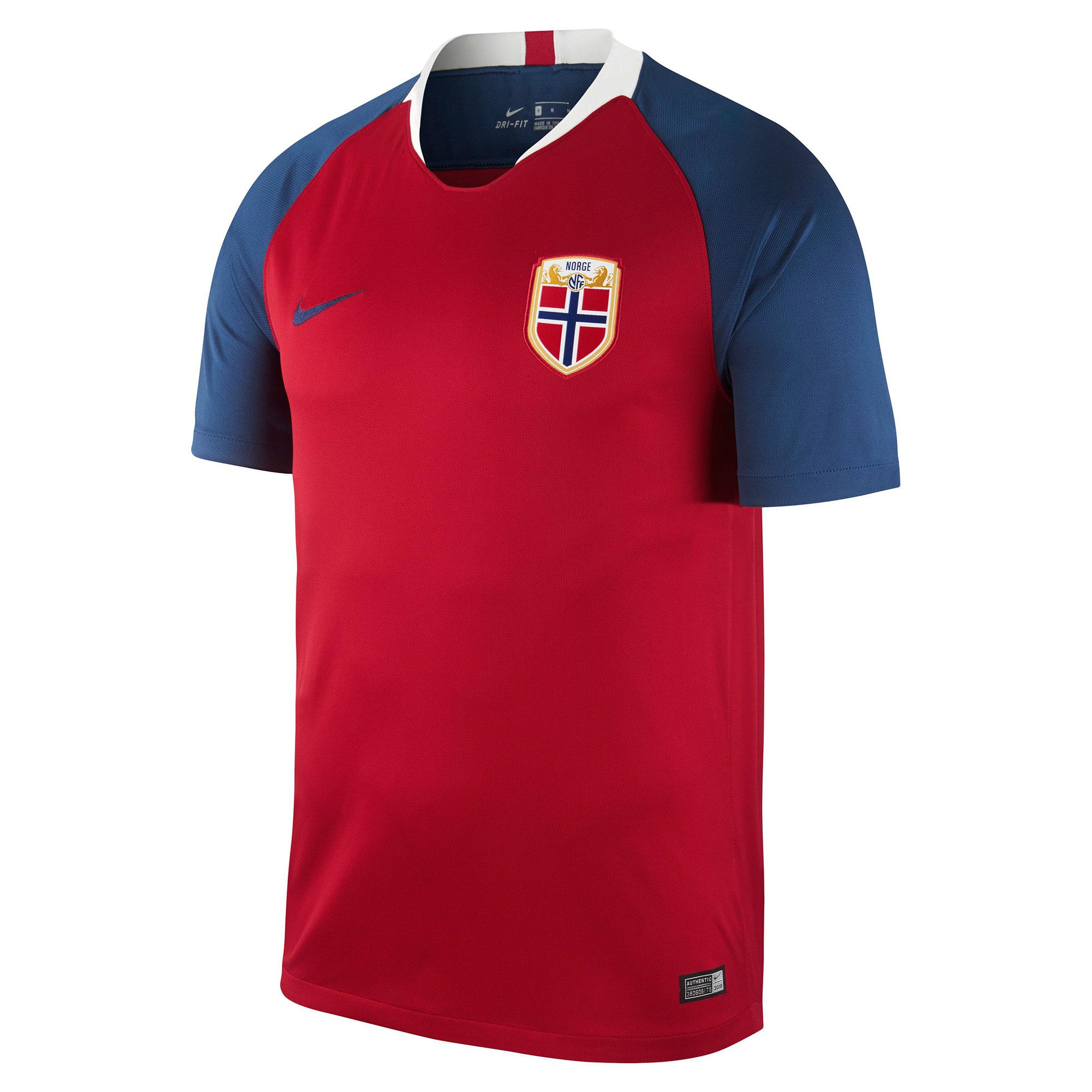 Norway Home Stadium Shirt 2018