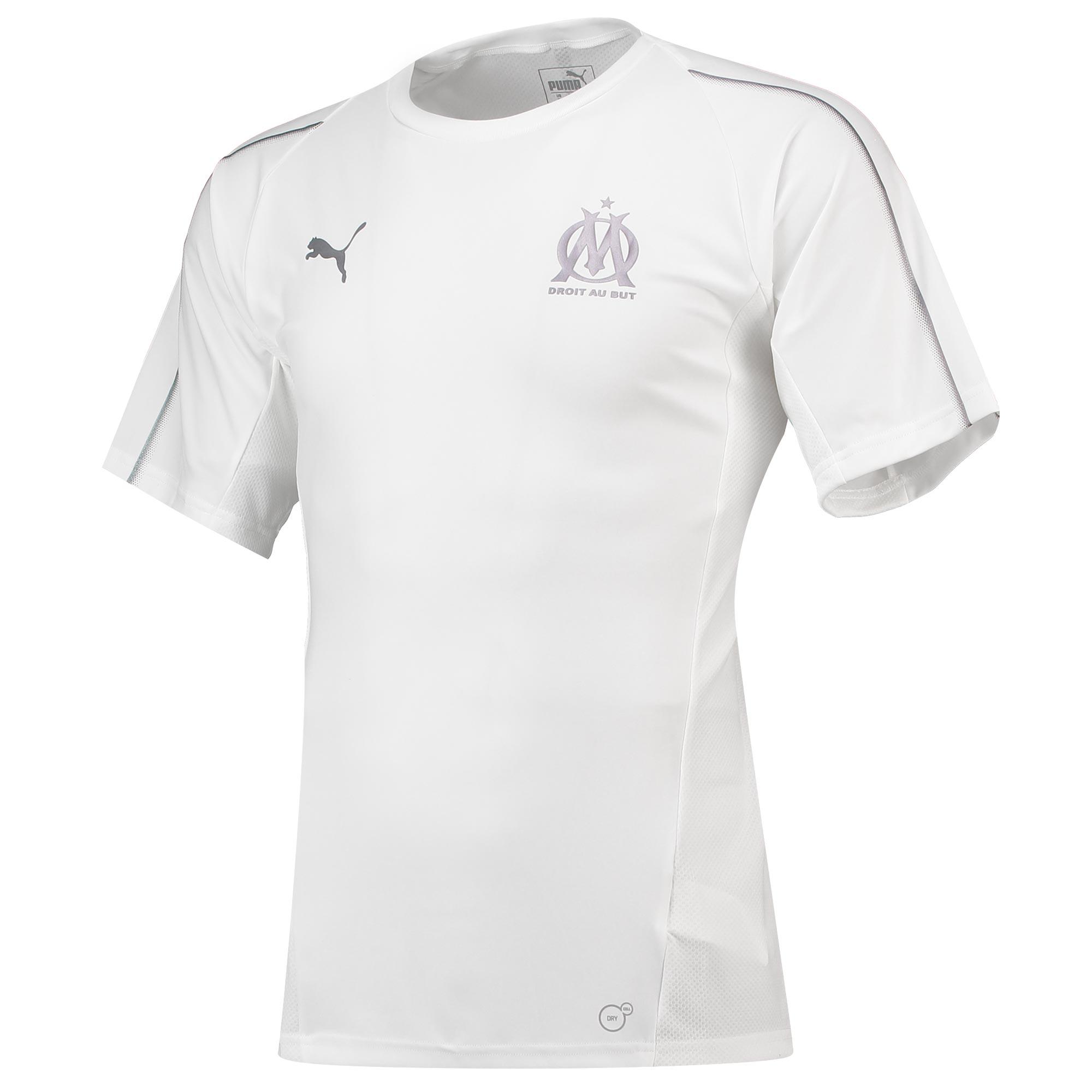 Camiseta de entrenamiento del Olympique de Marsella en blanco