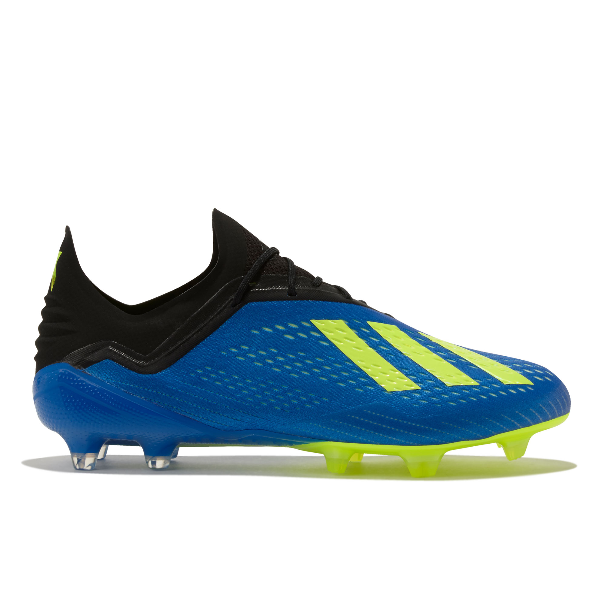 Image of adidas X 18.1 Firm Ground Football Boots - Blue