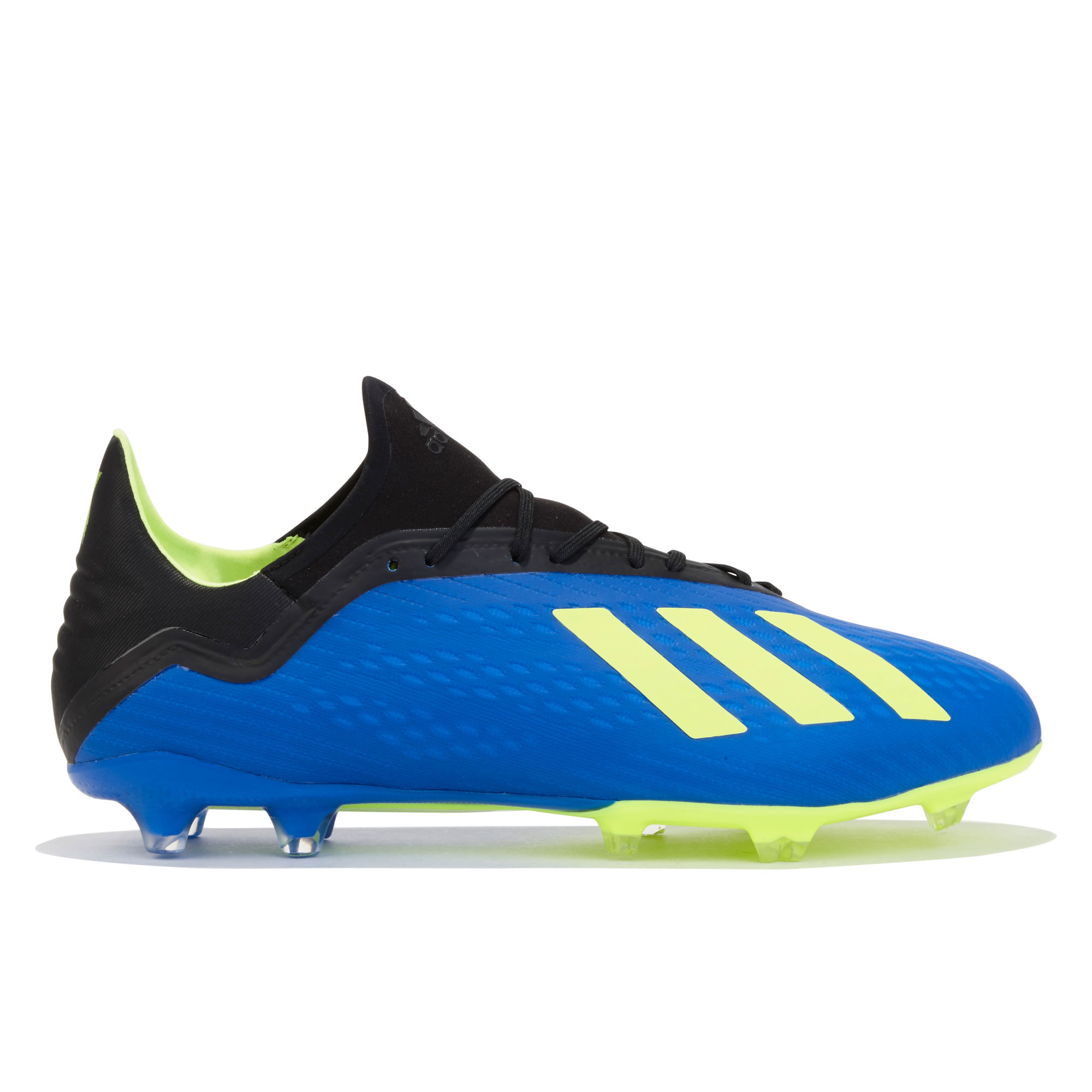 Image of adidas X 18.2 Firm Ground Football Boots - Blue