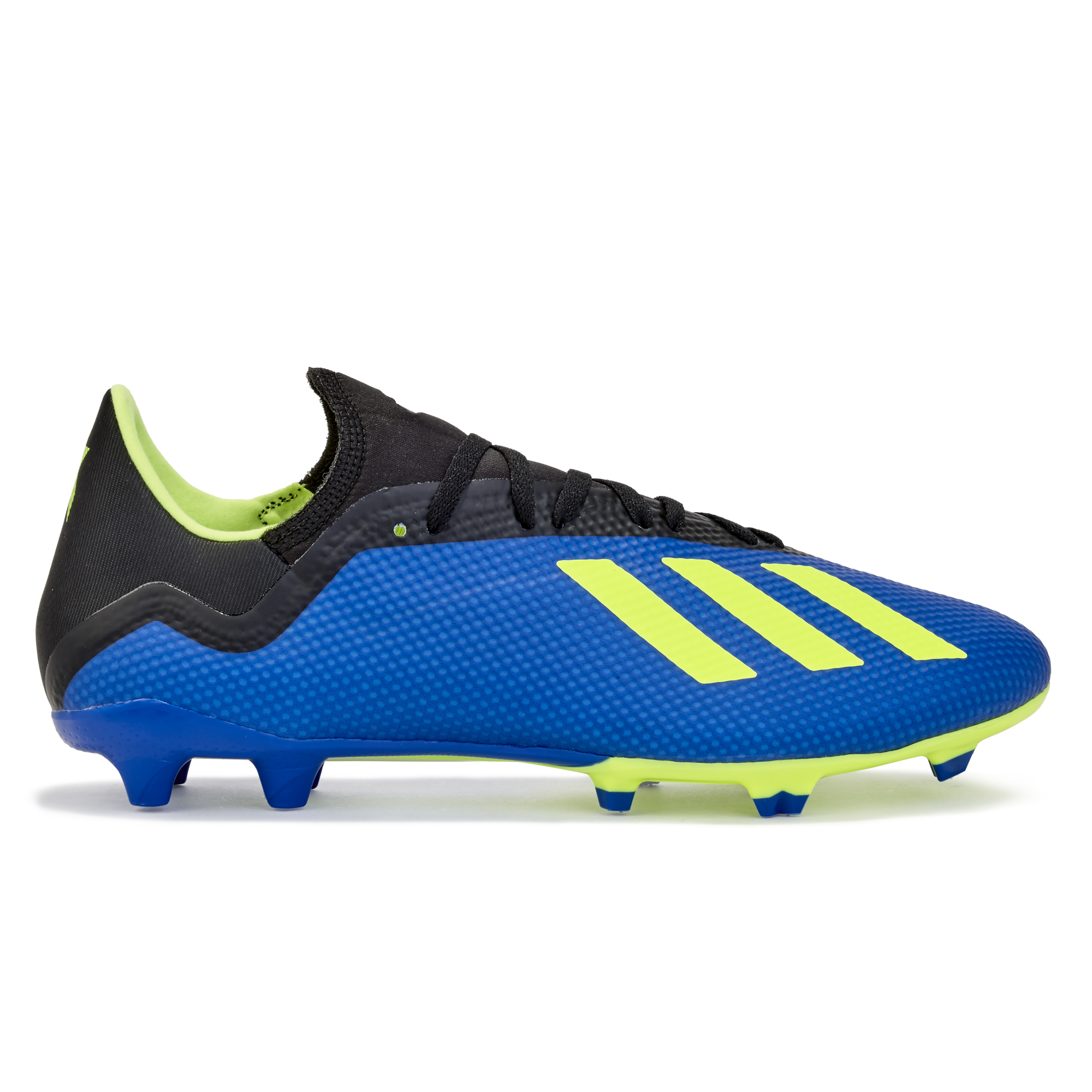 Image of adidas X 18.3 Firm Ground Football Boots - Blue