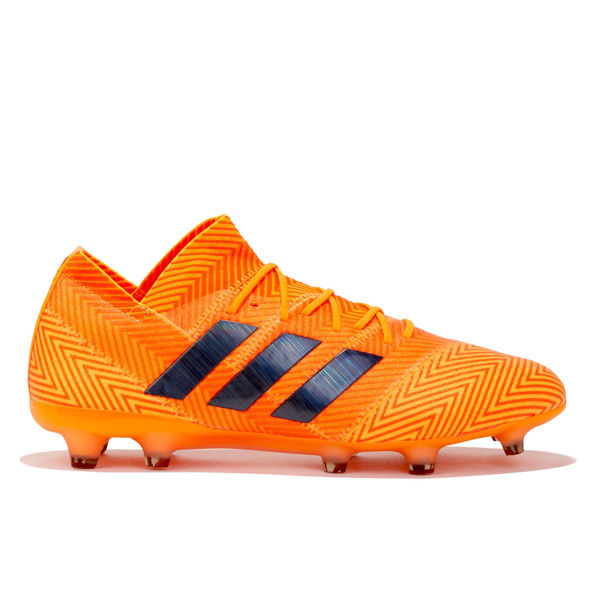 Botas de fútbol para terreno firme adidas Nemeziz 18.1 - Amarillas