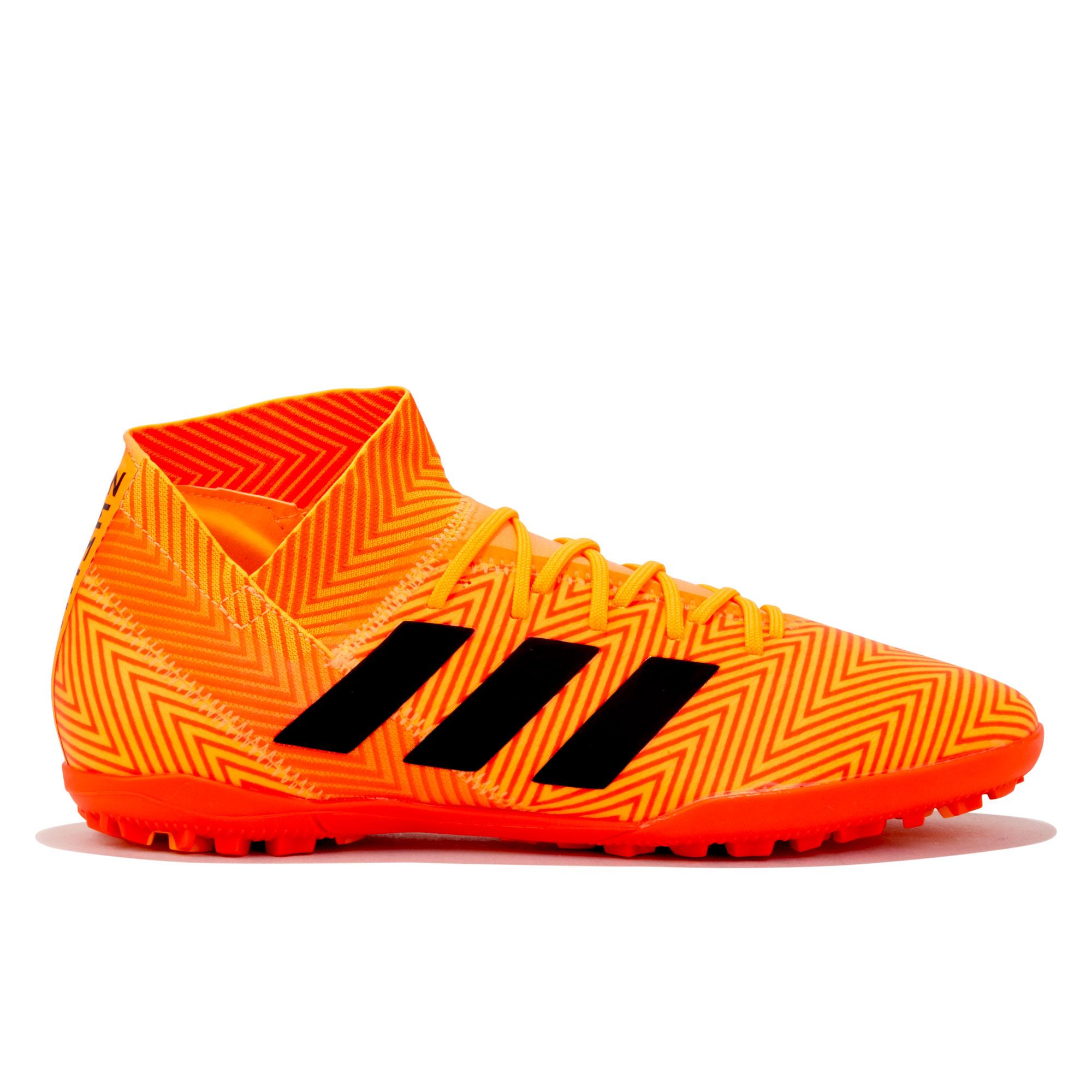 Image of adidas Nemeziz Tango 18.3 Astroturf Trainers - Orange