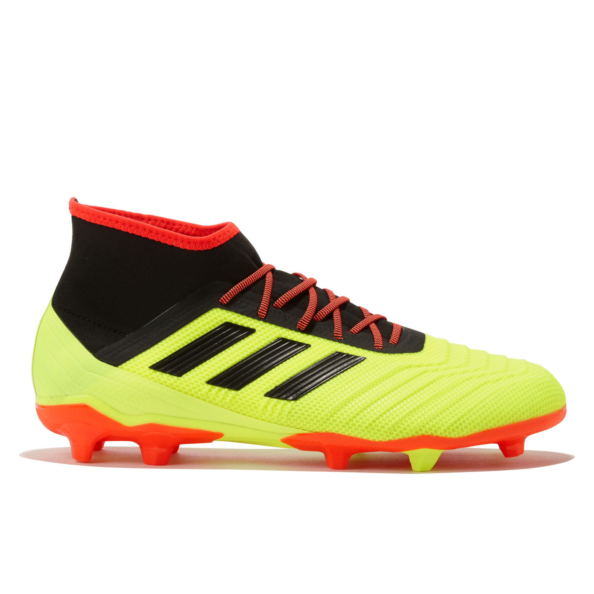 Image of adidas Predator 18.2 Firm Ground Football Boots - Yellow