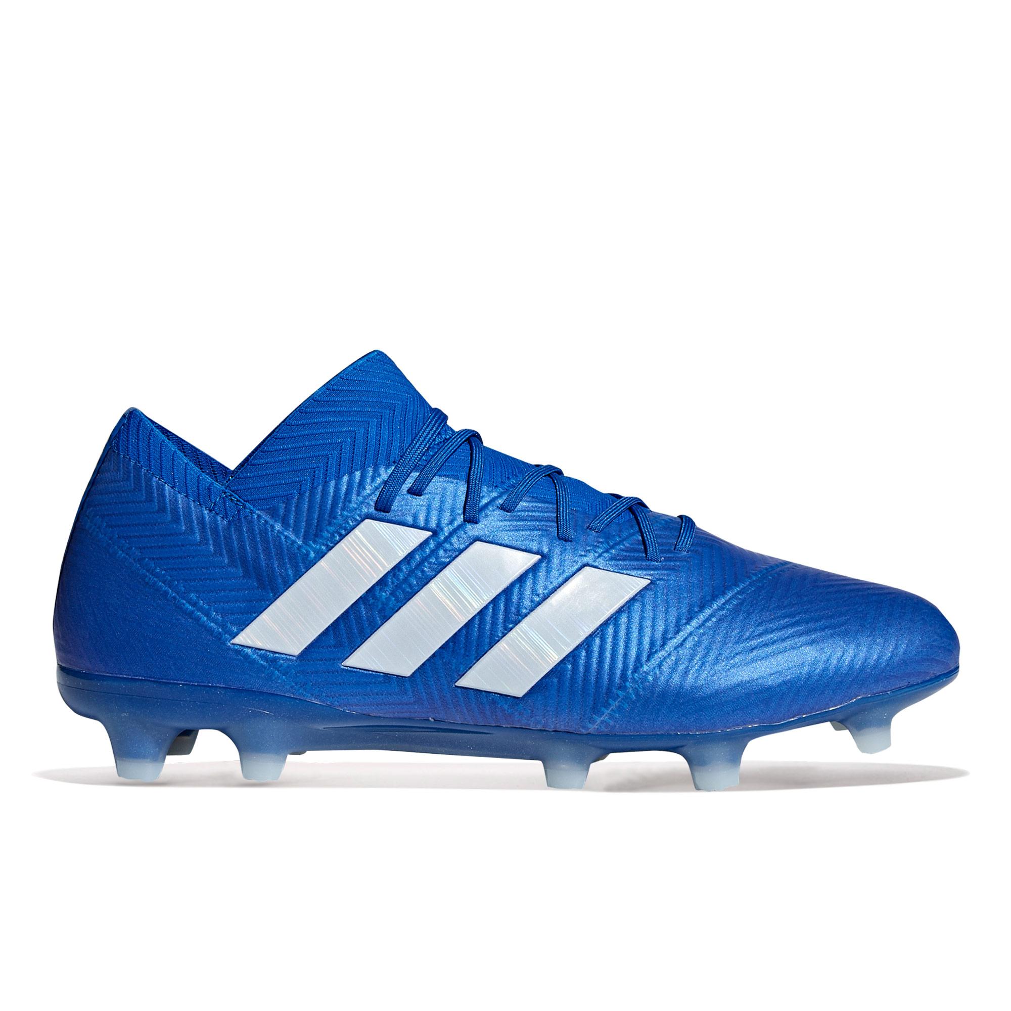 adidas Nemeziz 18.1 Firm Ground Football Boots - Blue