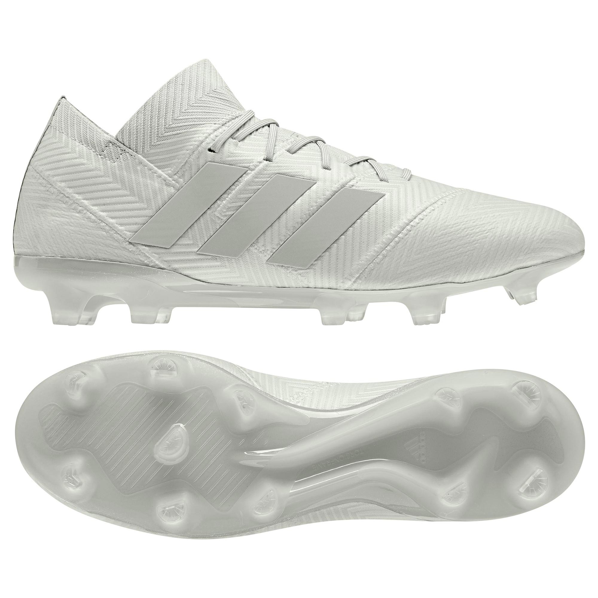 adidas Nemeziz 18.1 Firm Ground Football Boots - Silver