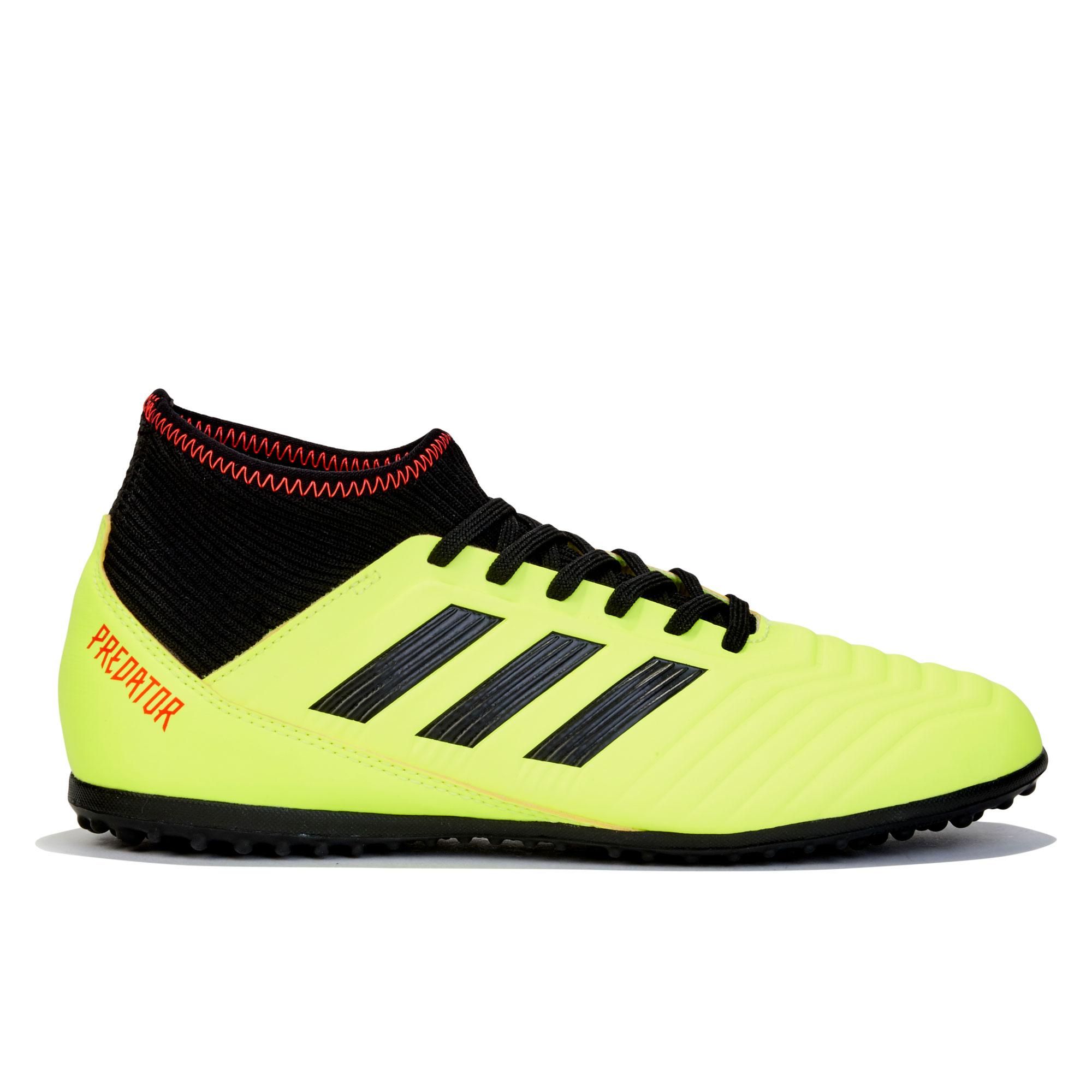 Image of adidas Predator Tango 18.3 Astroturf Trainers - Yellow - Kids