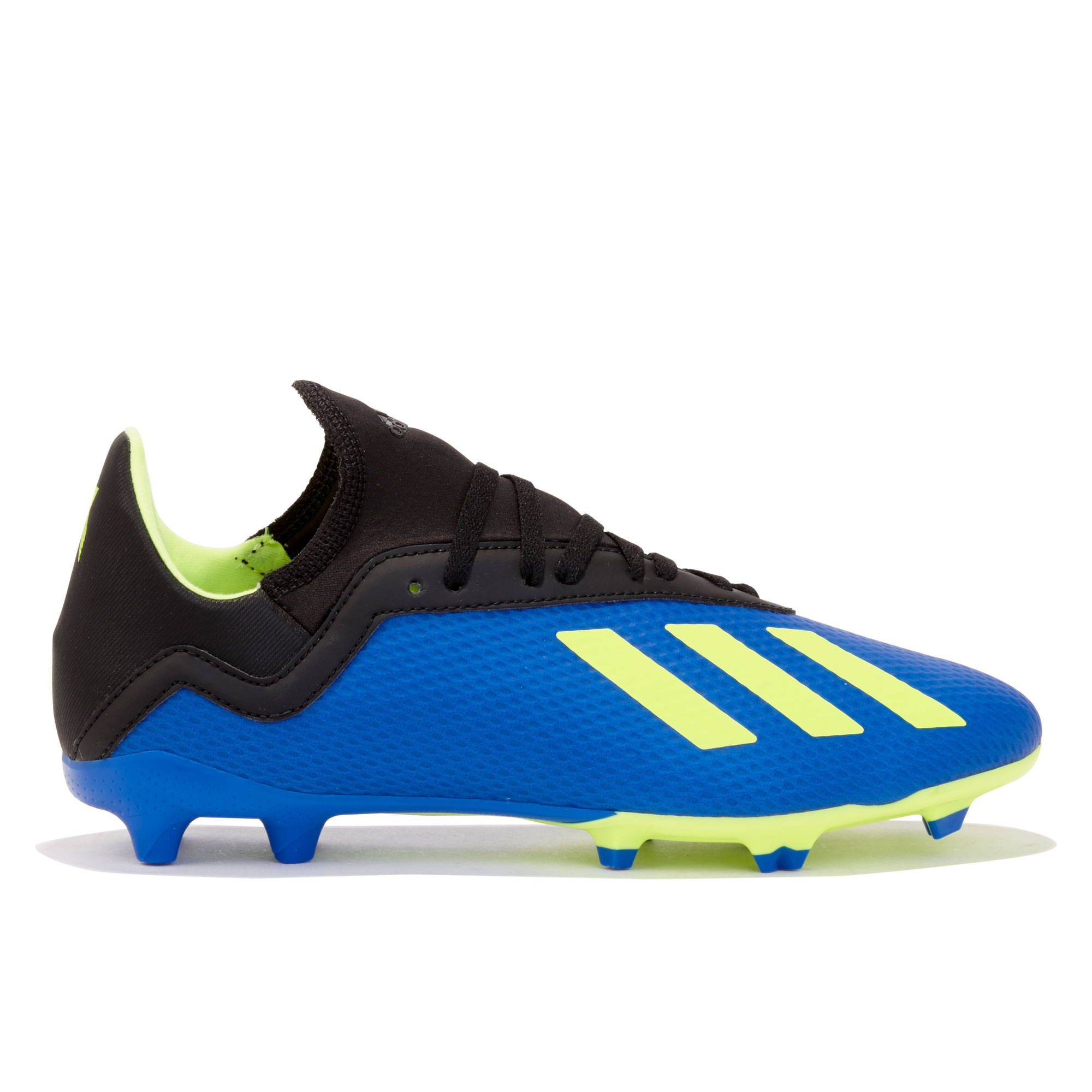 Image of adidas X 18.3 Firm Ground Football Boots - Blue - Kids