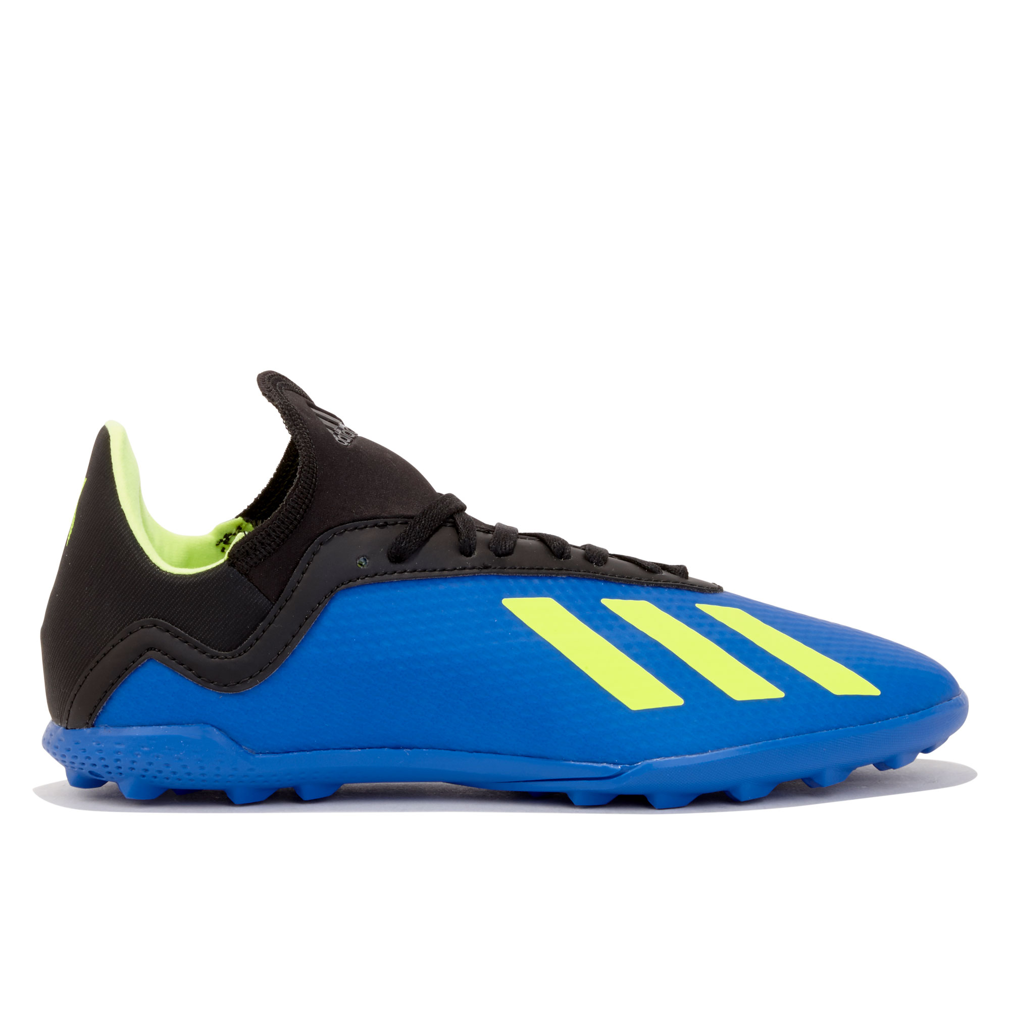 Image of adidas X Tango 18.3 Astroturf Trainers - Blue - Kids